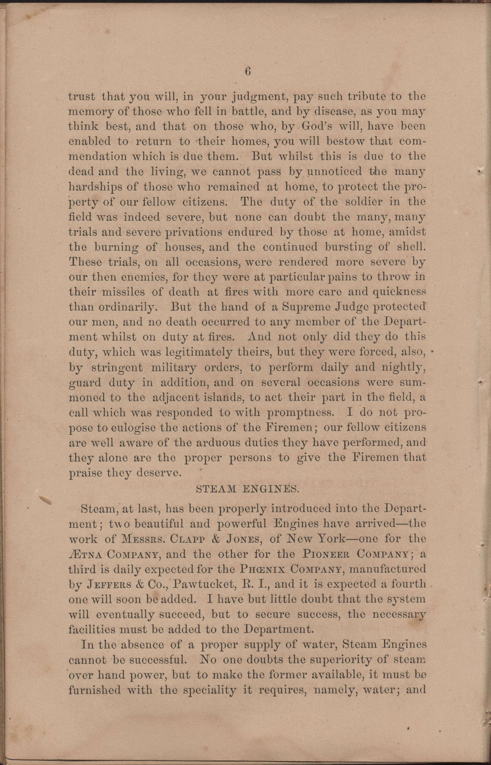 Annual Report of the Chief of the Fire Department of the City of Charleston, page 102