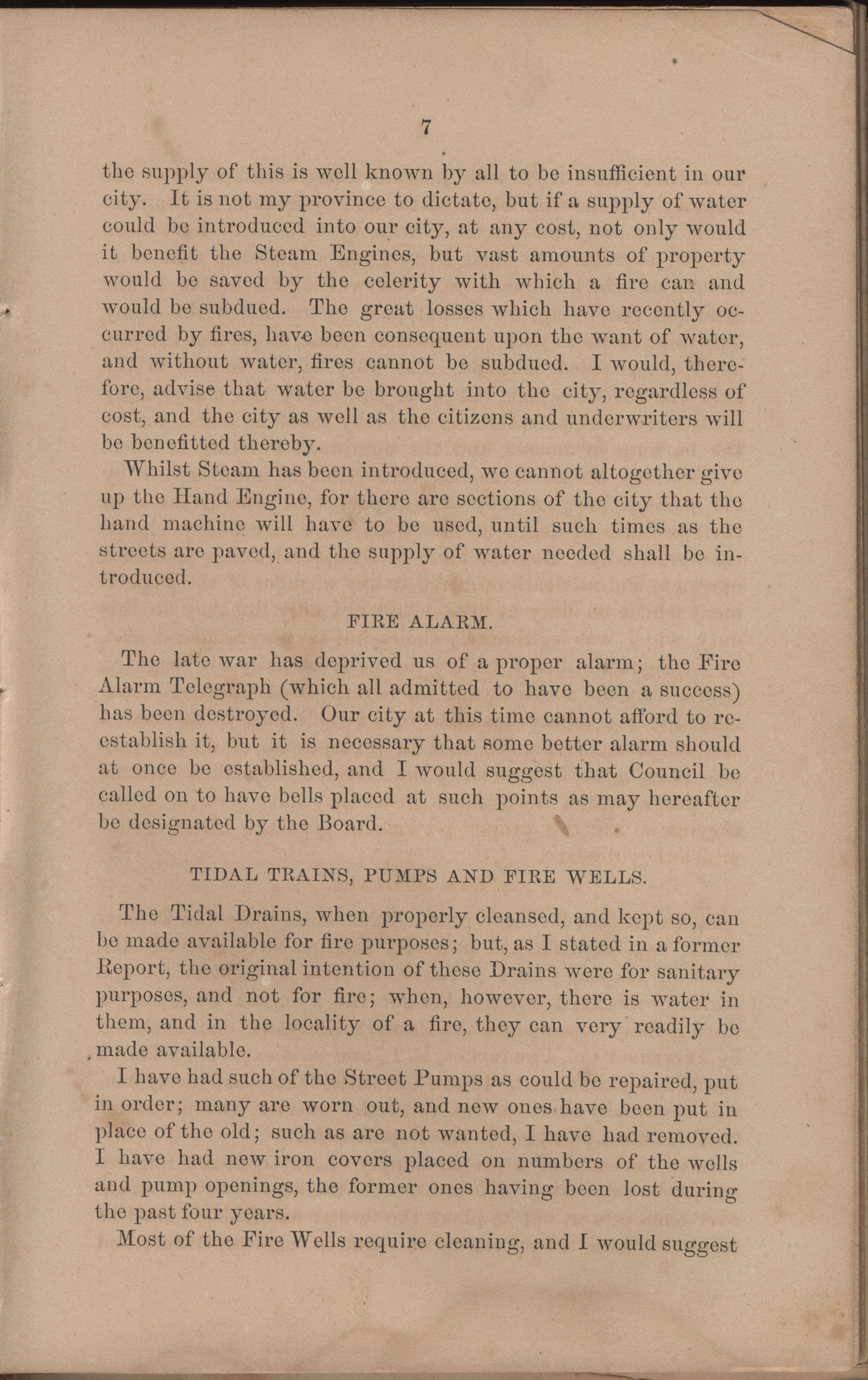 Annual Report of the Chief of the Fire Department of the City of Charleston, page 103