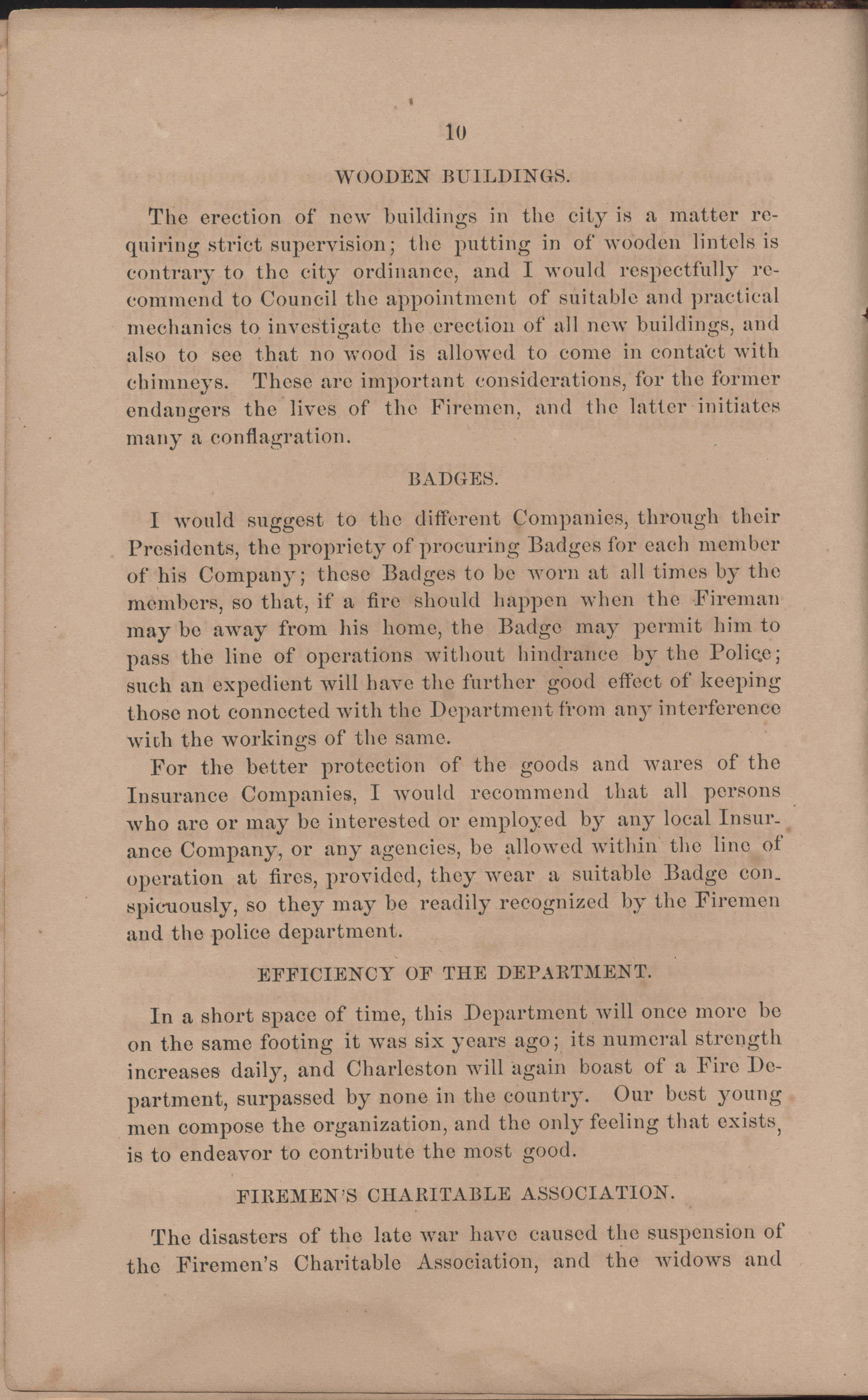 Annual Report of the Chief of the Fire Department of the City of Charleston, page 106