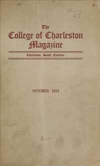 College of Charleston Magazine, 1913-1914