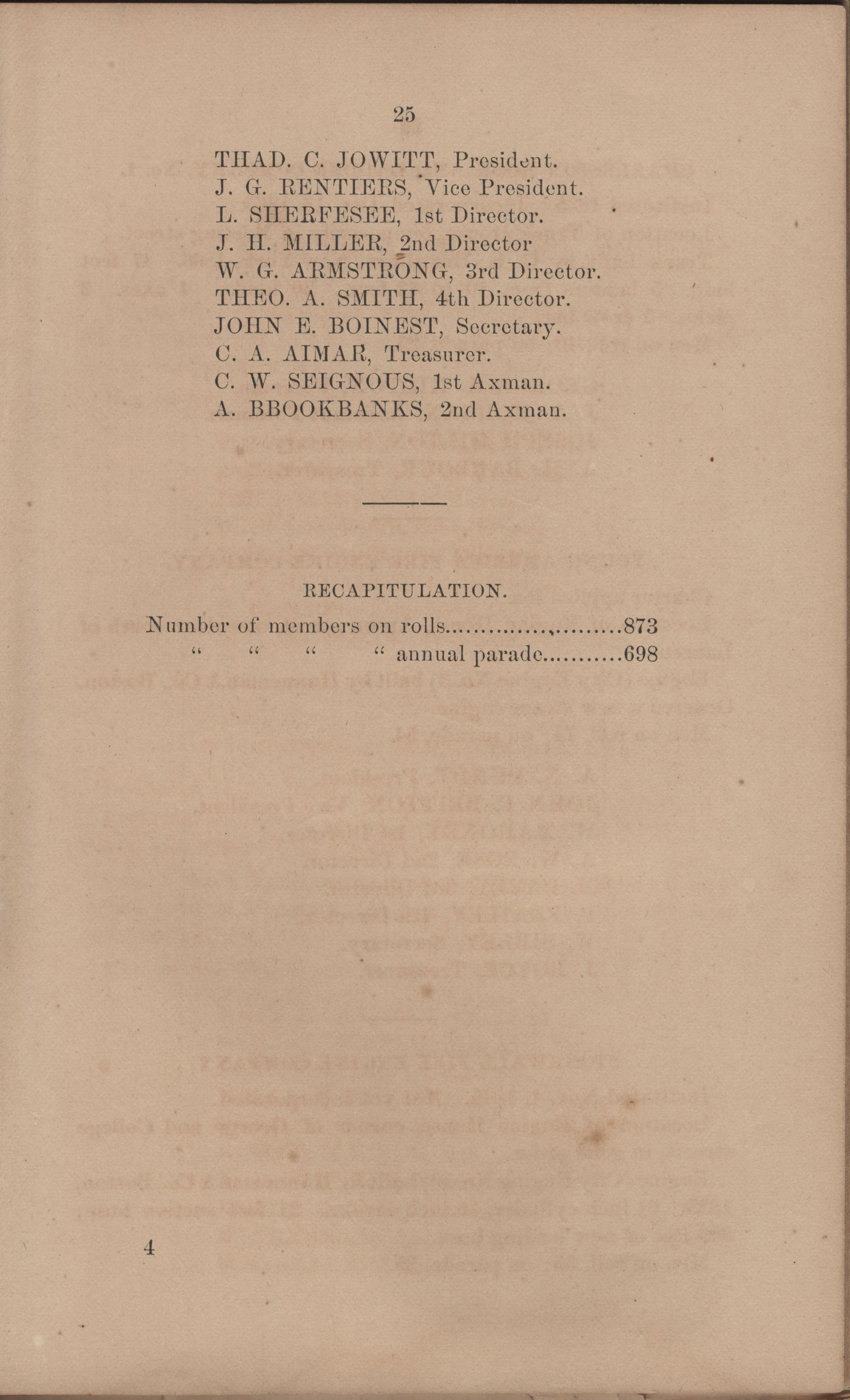 Annual Report of the Chief of the Fire Department of the City of Charleston, page 121