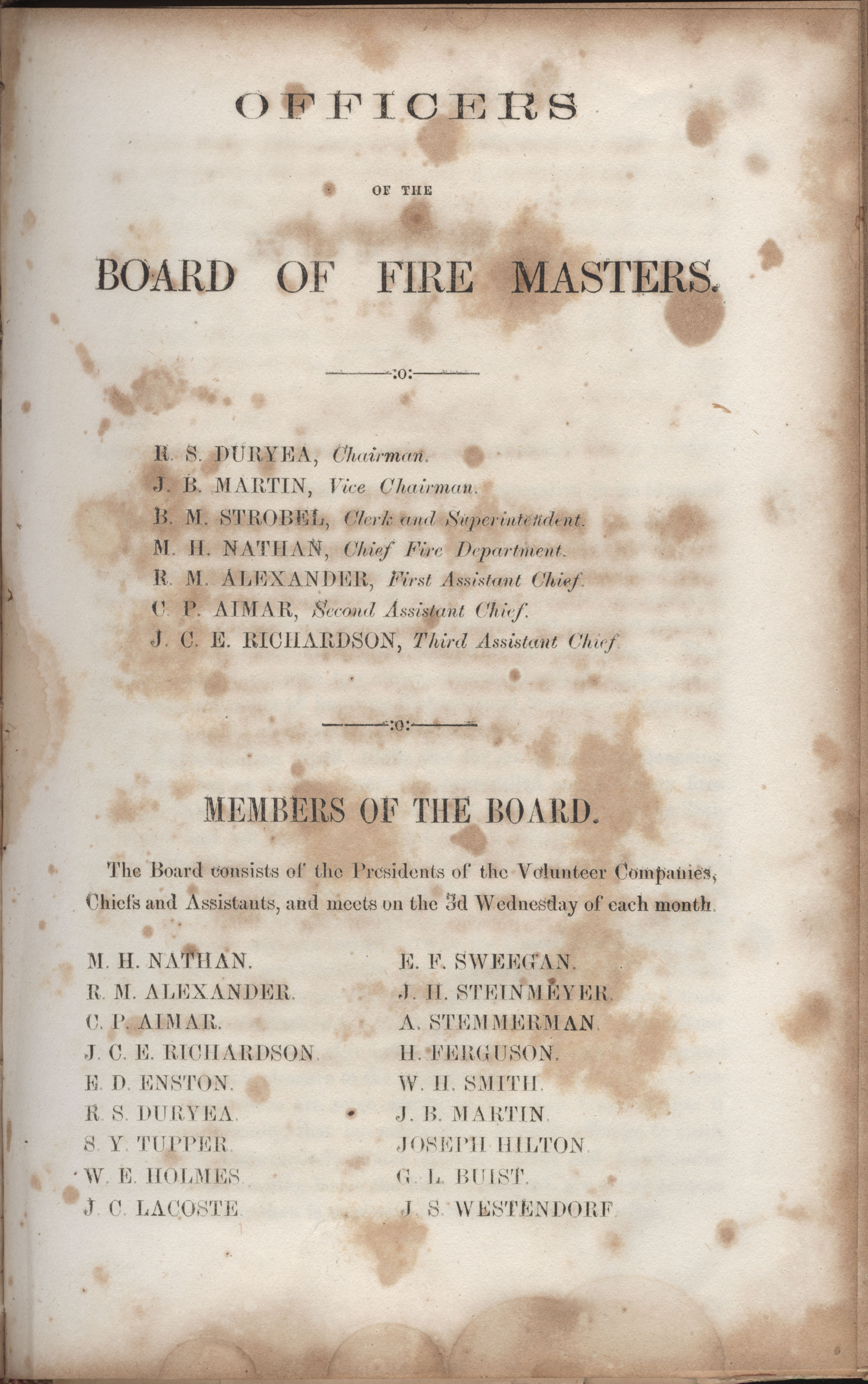 Annual Report of the Chief of the Fire Department of the City of Charleston, page 146