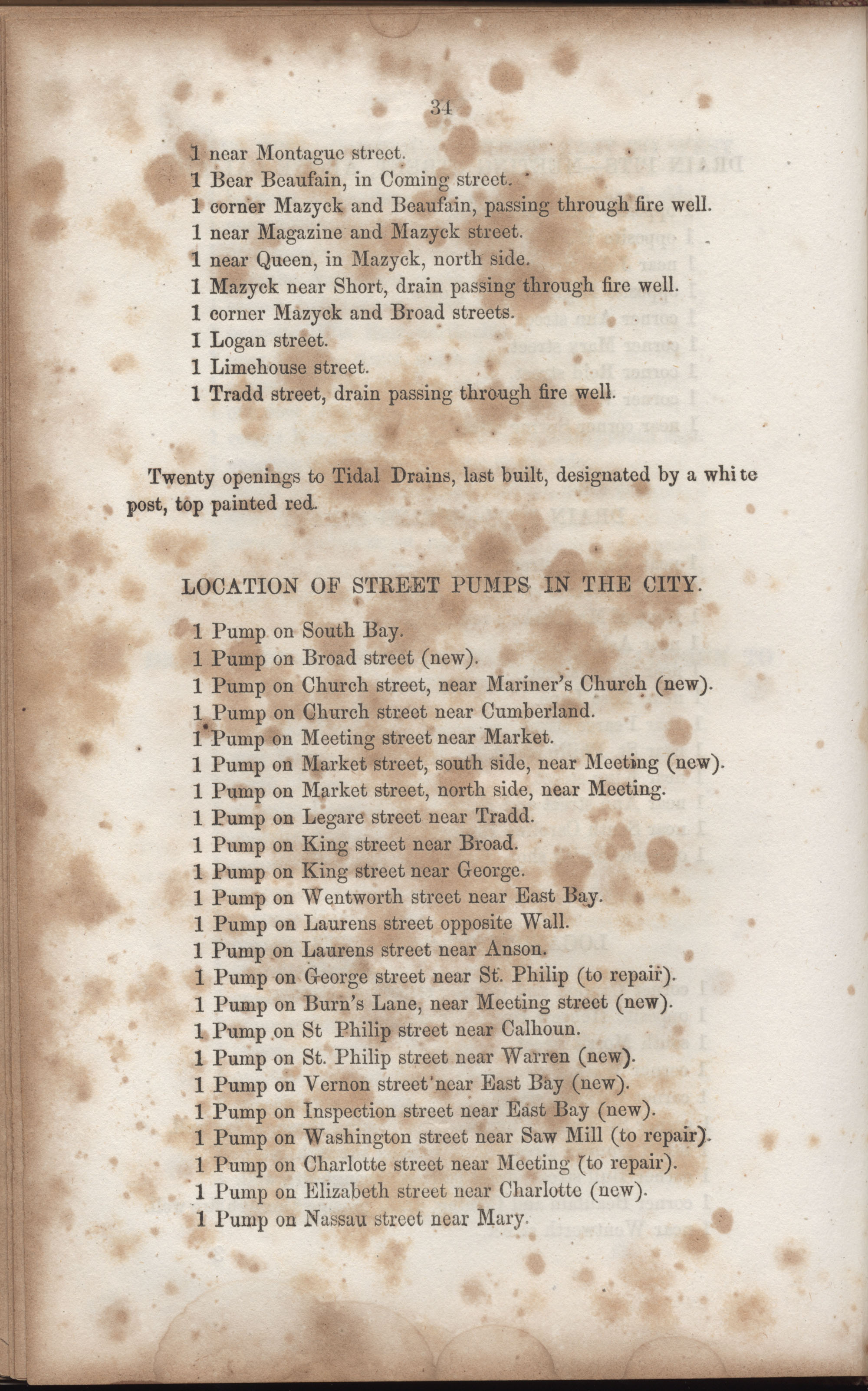 Annual Report of the Chief of the Fire Department of the City of Charleston, page 176