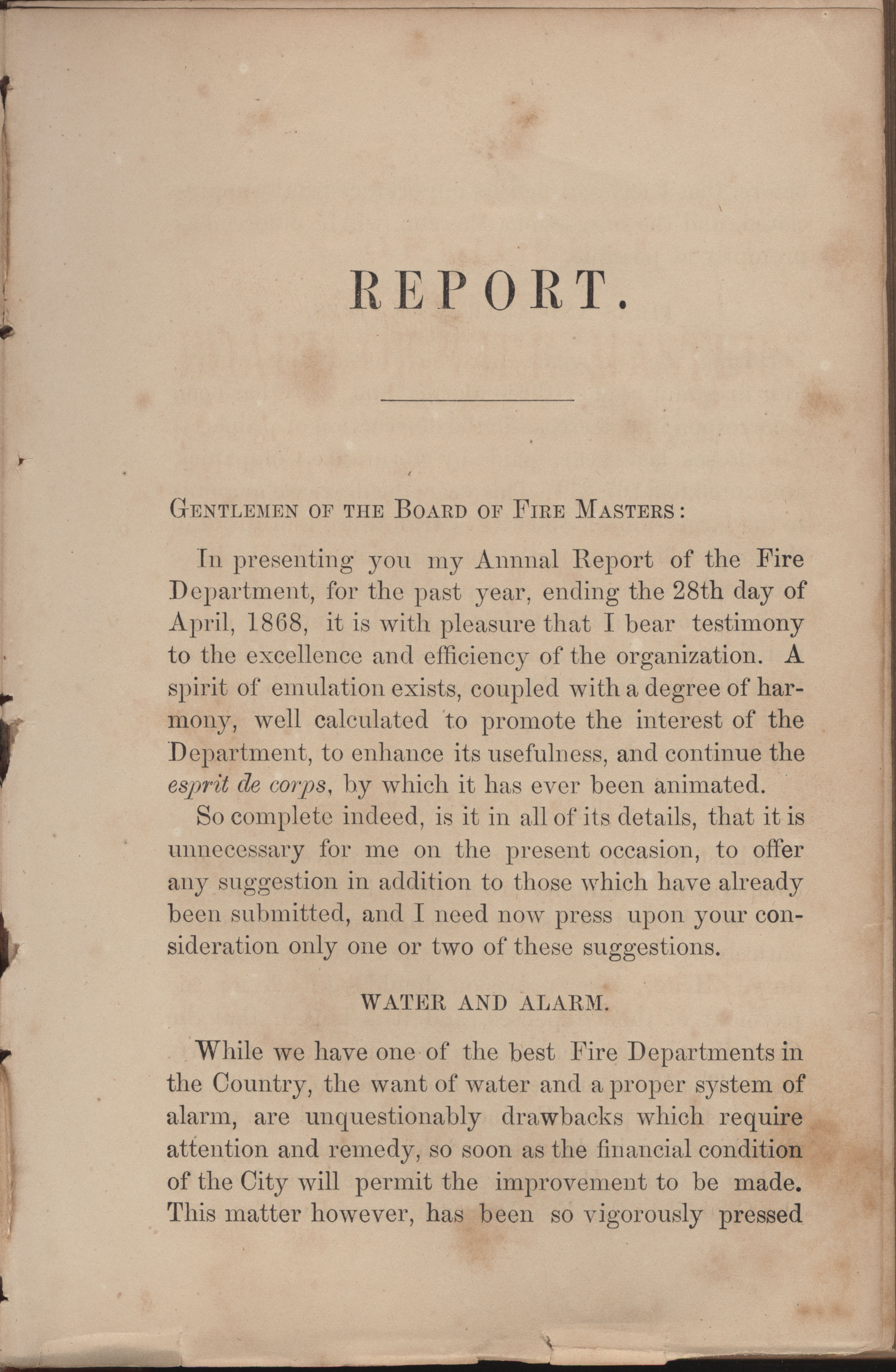 Annual Report of the Chief of the Fire Department of the City of Charleston, page 183