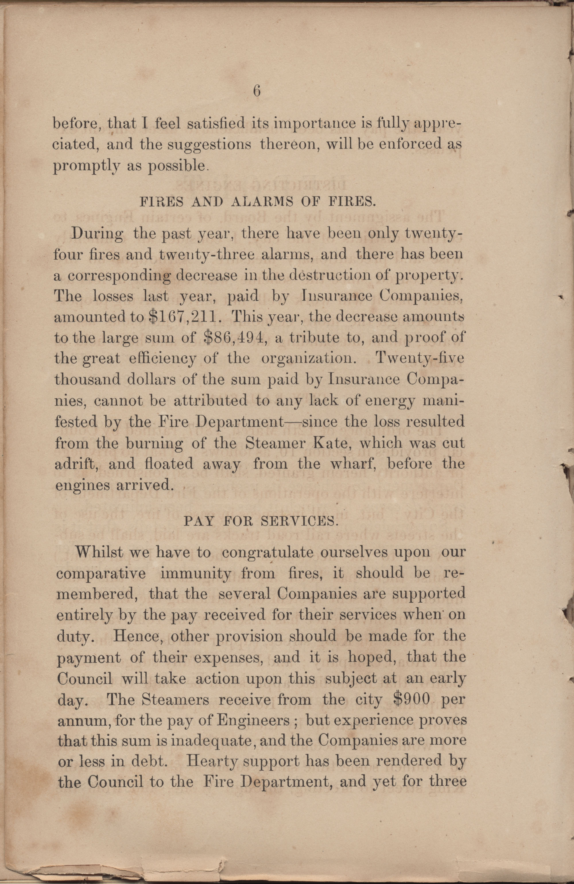 Annual Report of the Chief of the Fire Department of the City of Charleston, page 184
