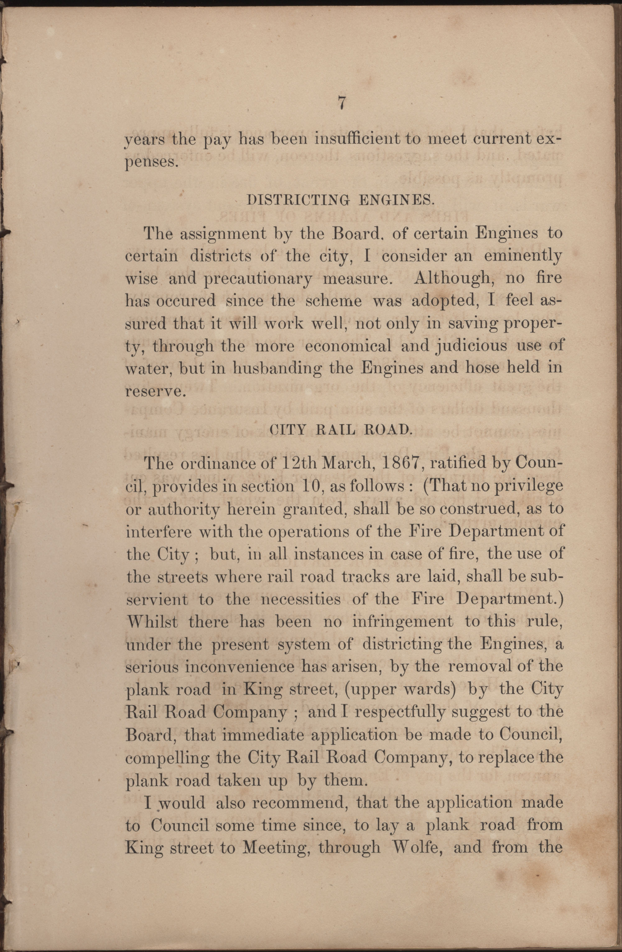 Annual Report of the Chief of the Fire Department of the City of Charleston, page 185