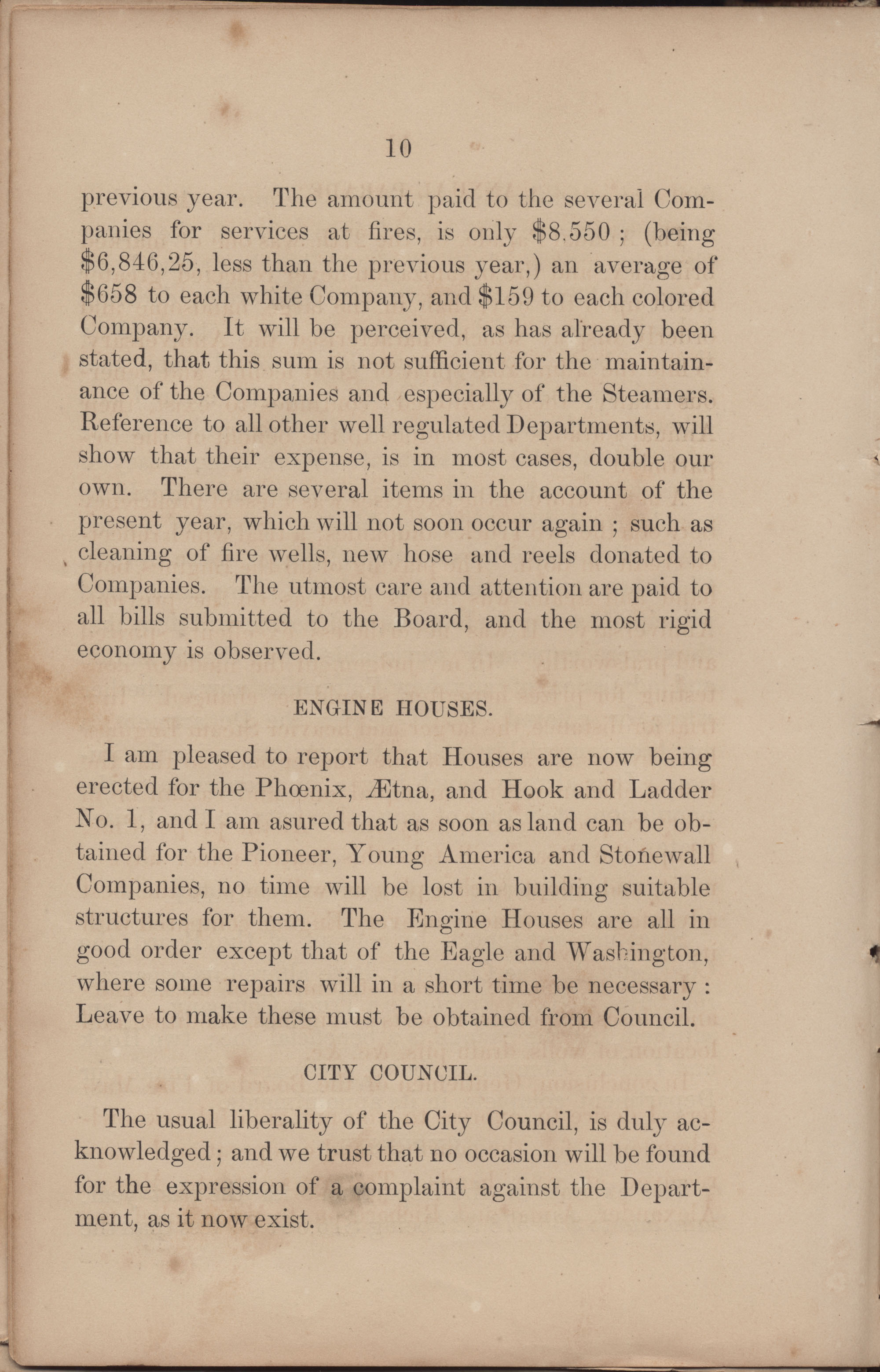 Annual Report of the Chief of the Fire Department of the City of Charleston, page 188