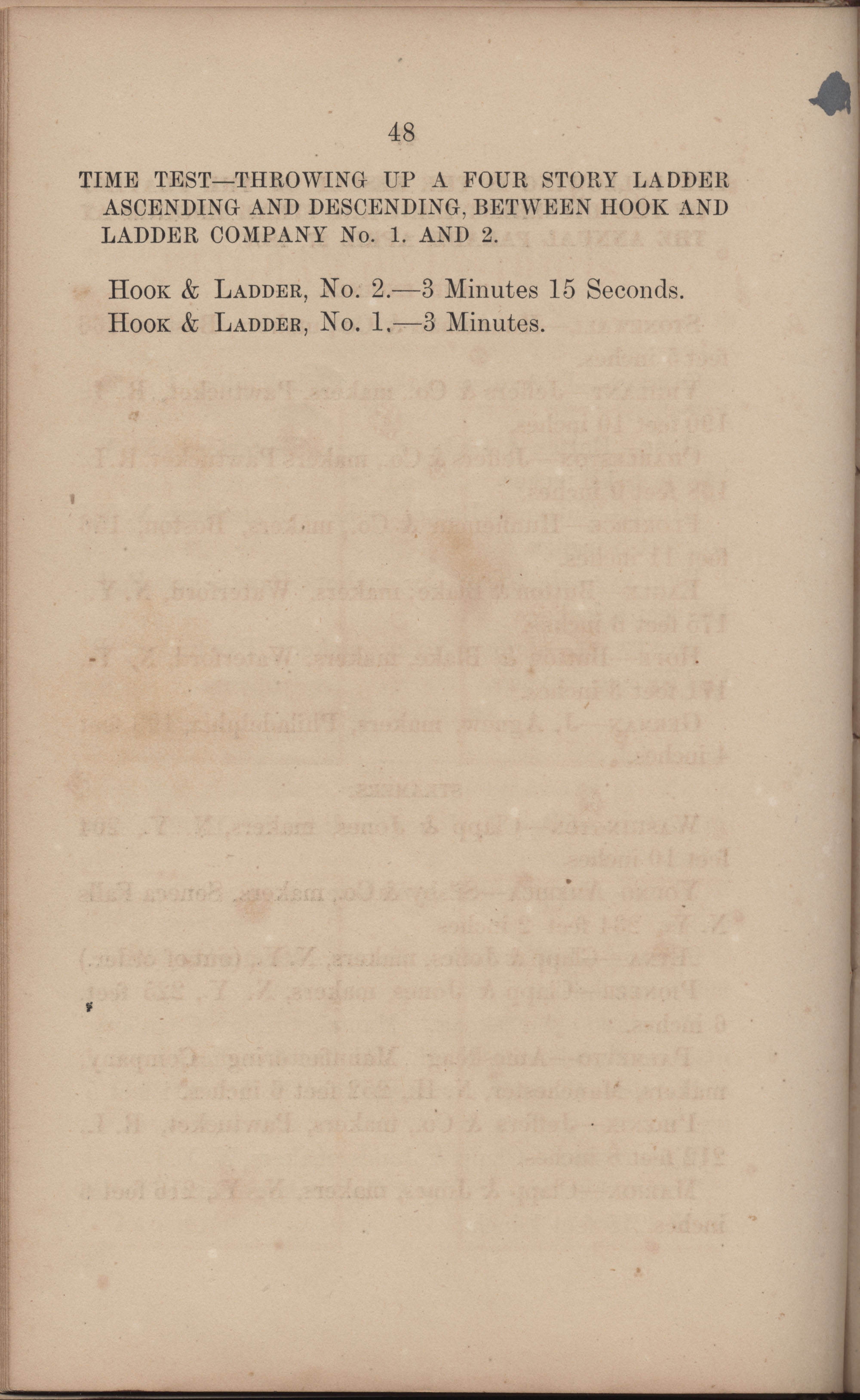 Annual Report of the Chief of the Fire Department of the City of Charleston, page 226