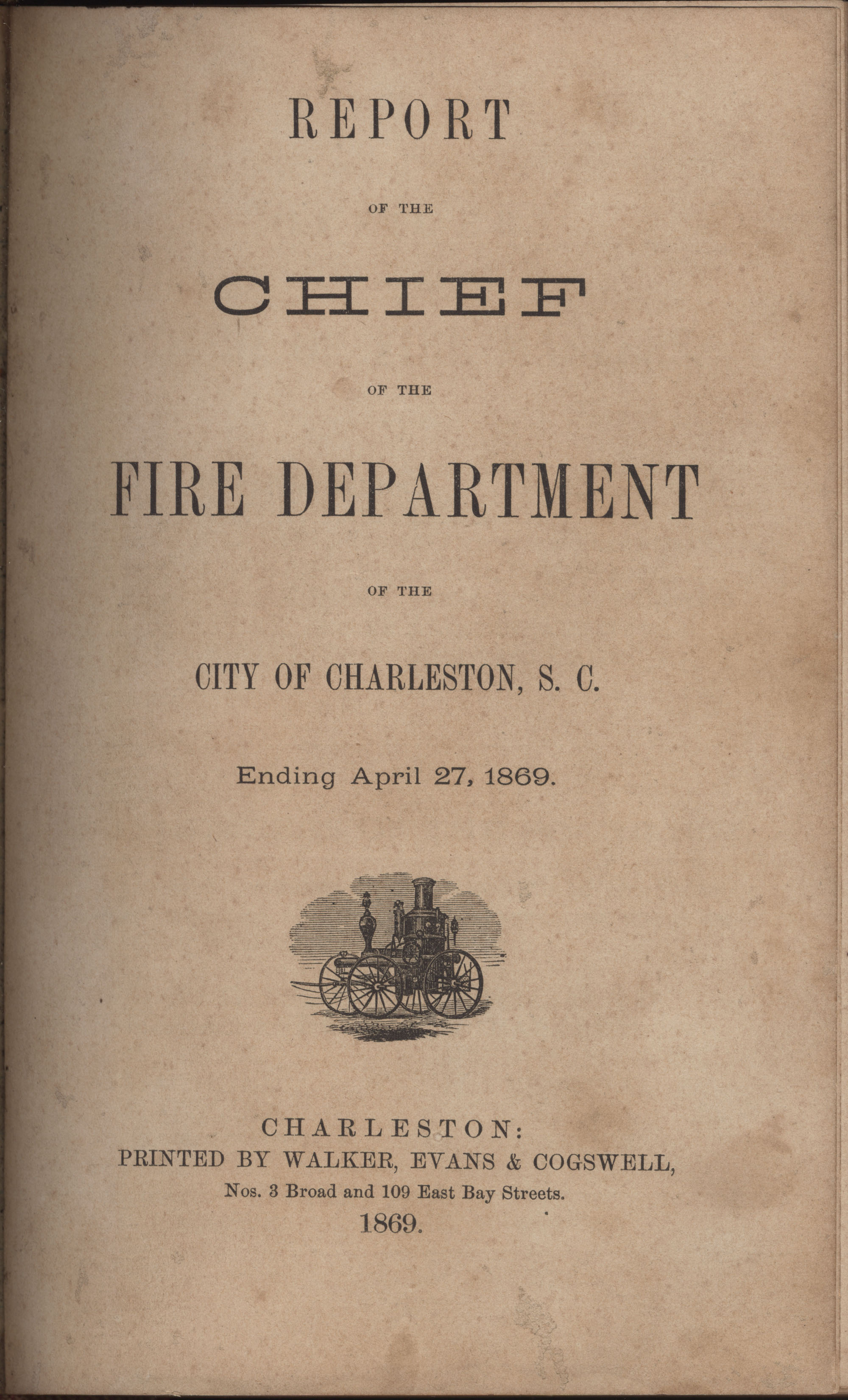 Annual Report of the Chief of the Fire Department of the City of Charleston, page 230