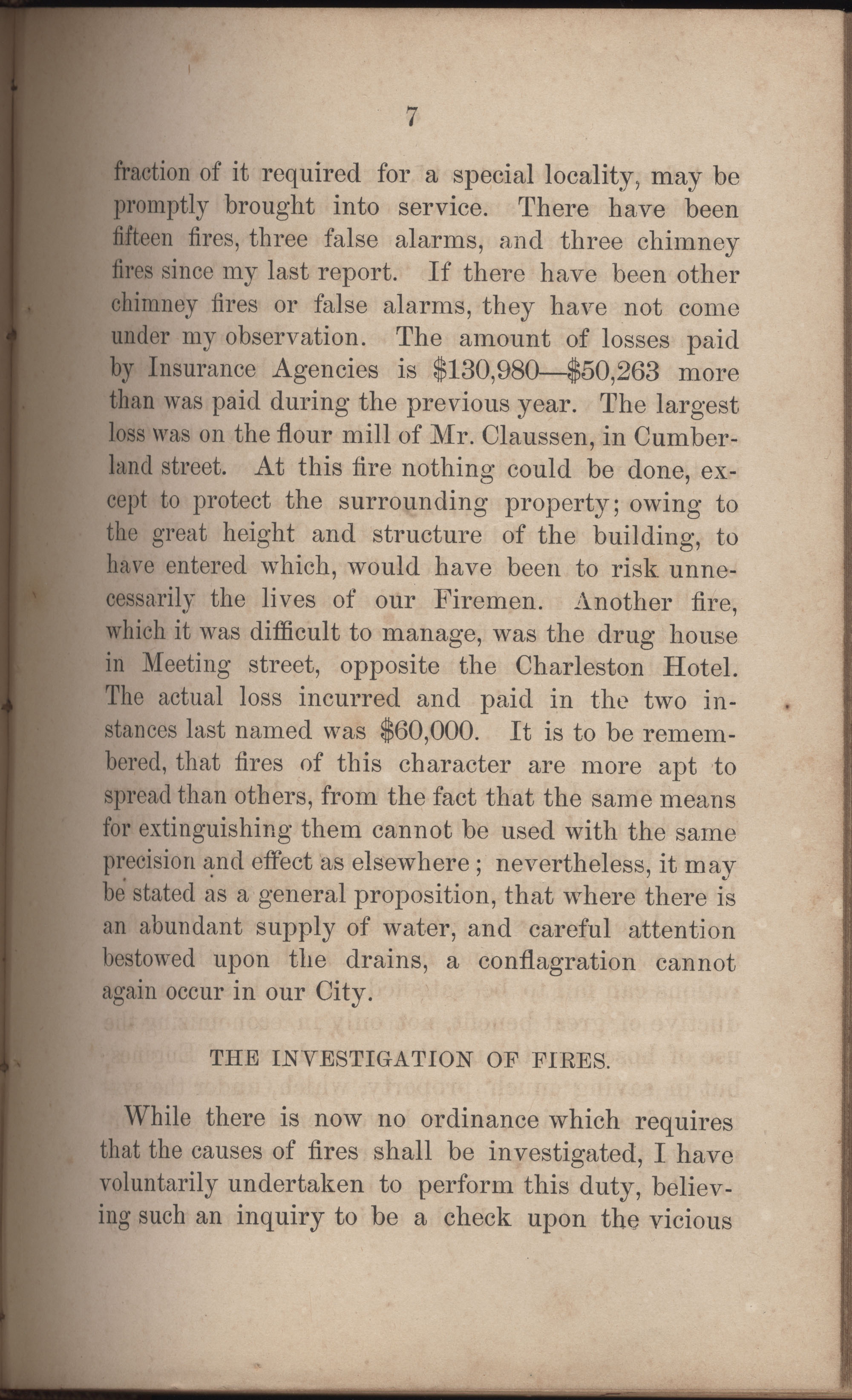 Annual Report of the Chief of the Fire Department of the City of Charleston, page 234