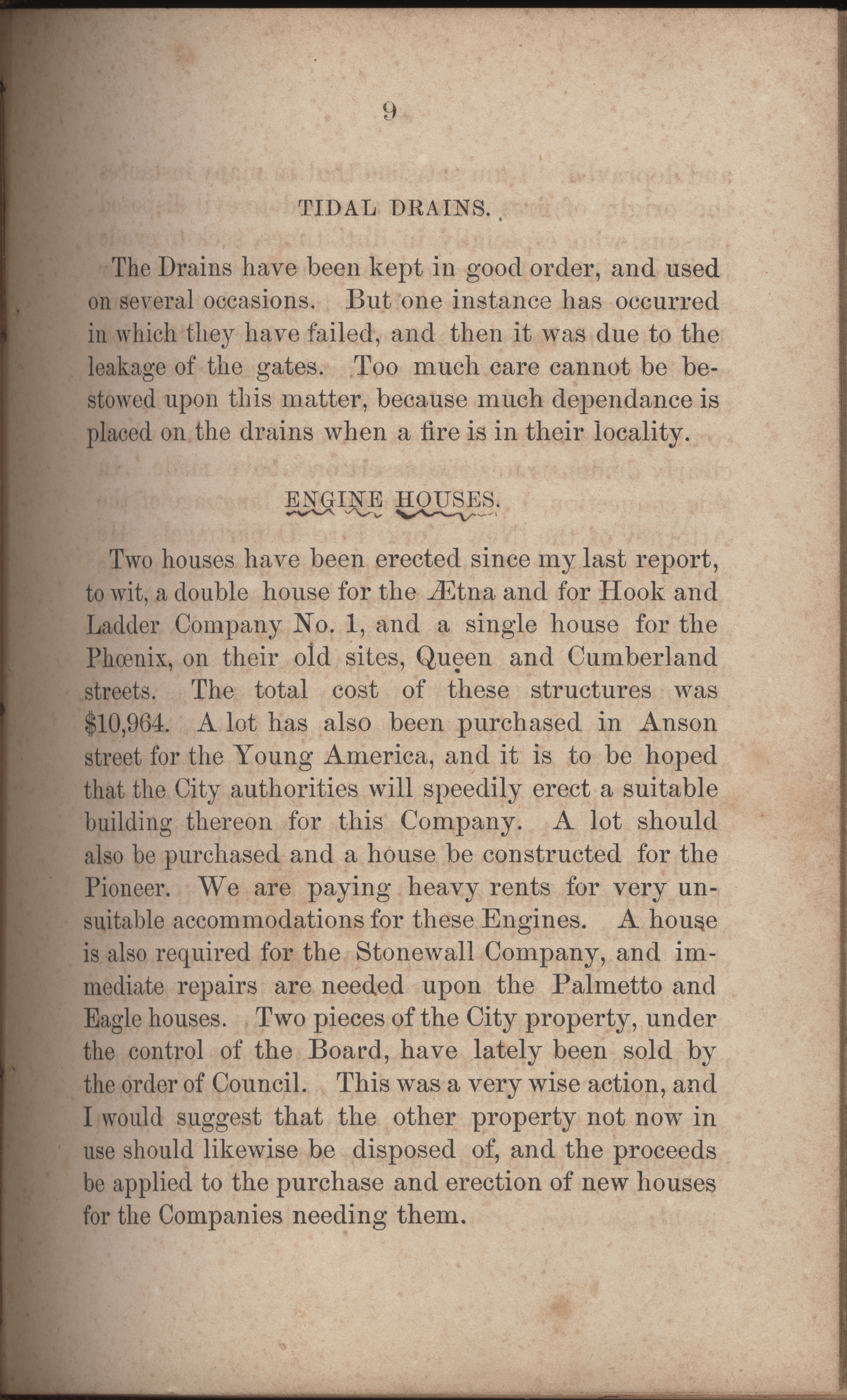Annual Report of the Chief of the Fire Department of the City of Charleston, page 236