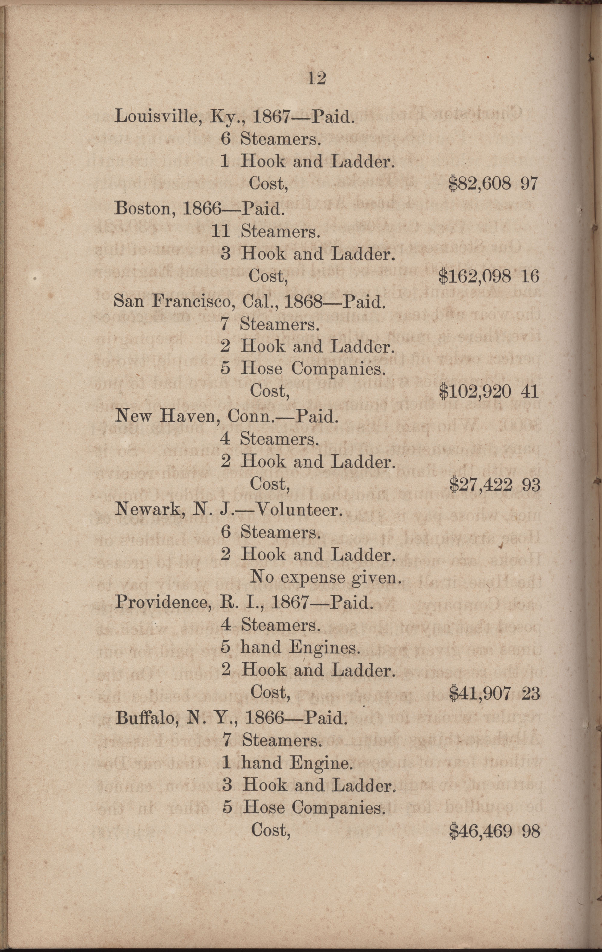 Annual Report of the Chief of the Fire Department of the City of Charleston, page 239