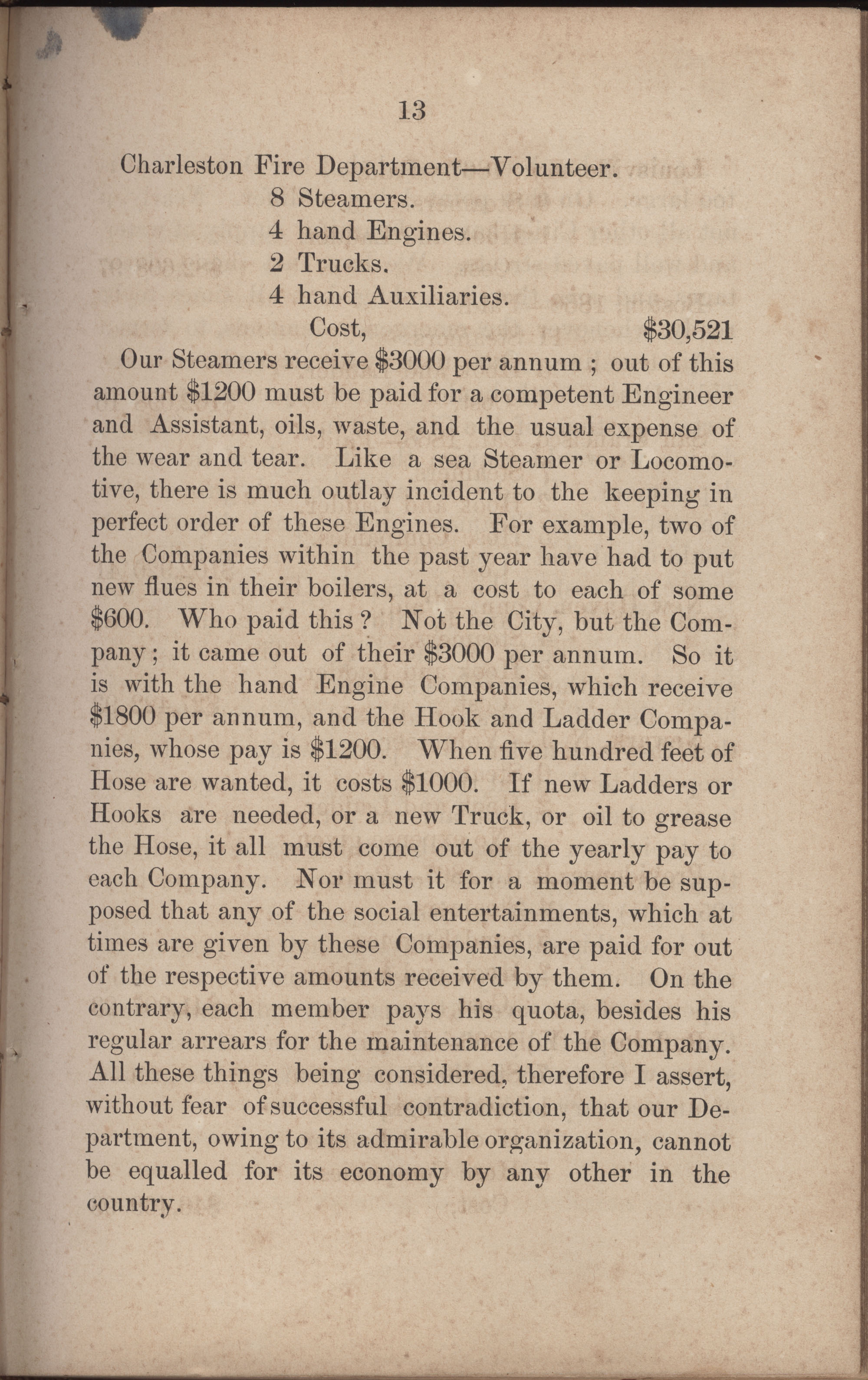 Annual Report of the Chief of the Fire Department of the City of Charleston, page 240