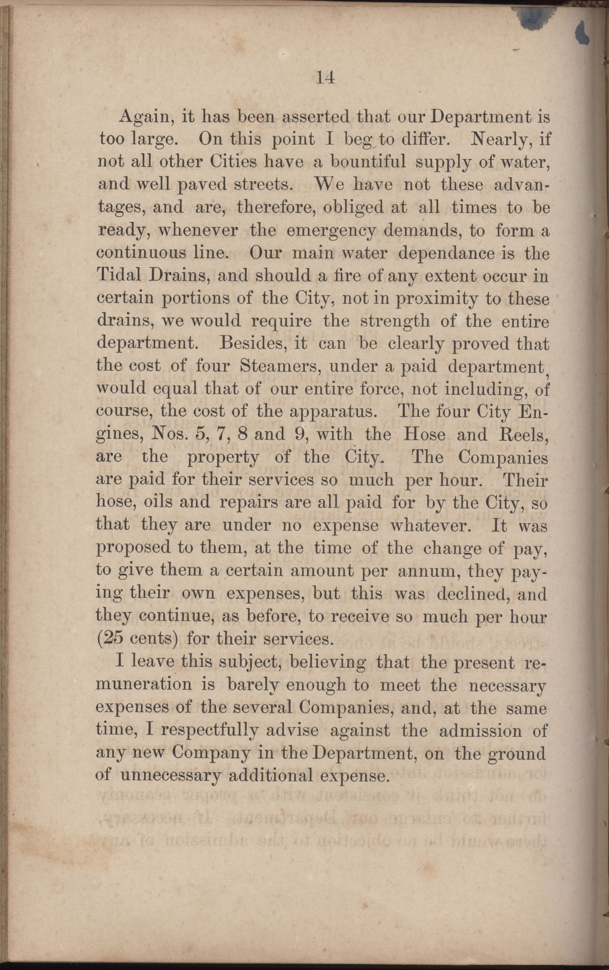 Annual Report of the Chief of the Fire Department of the City of Charleston, page 241