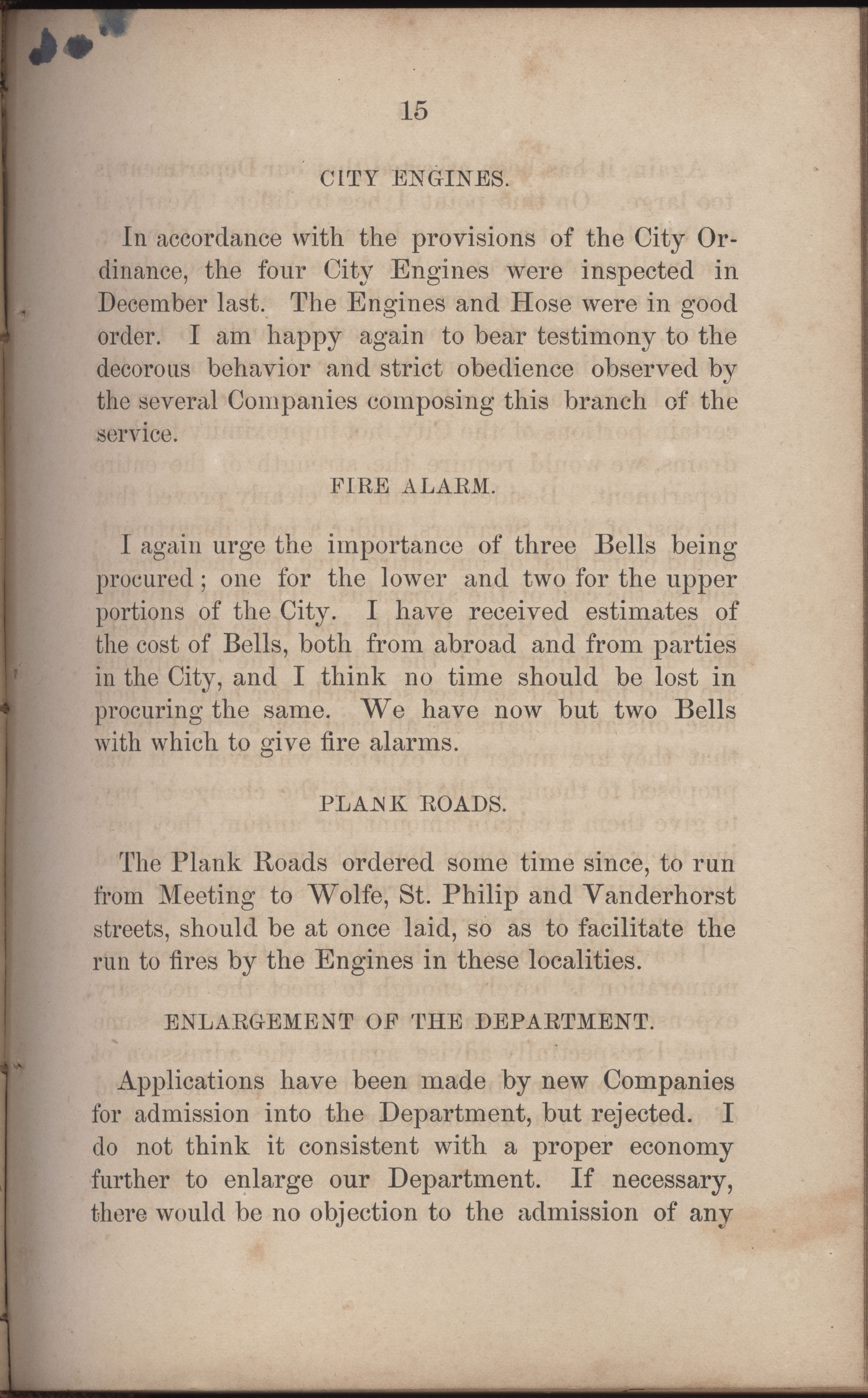 Annual Report of the Chief of the Fire Department of the City of Charleston, page 242