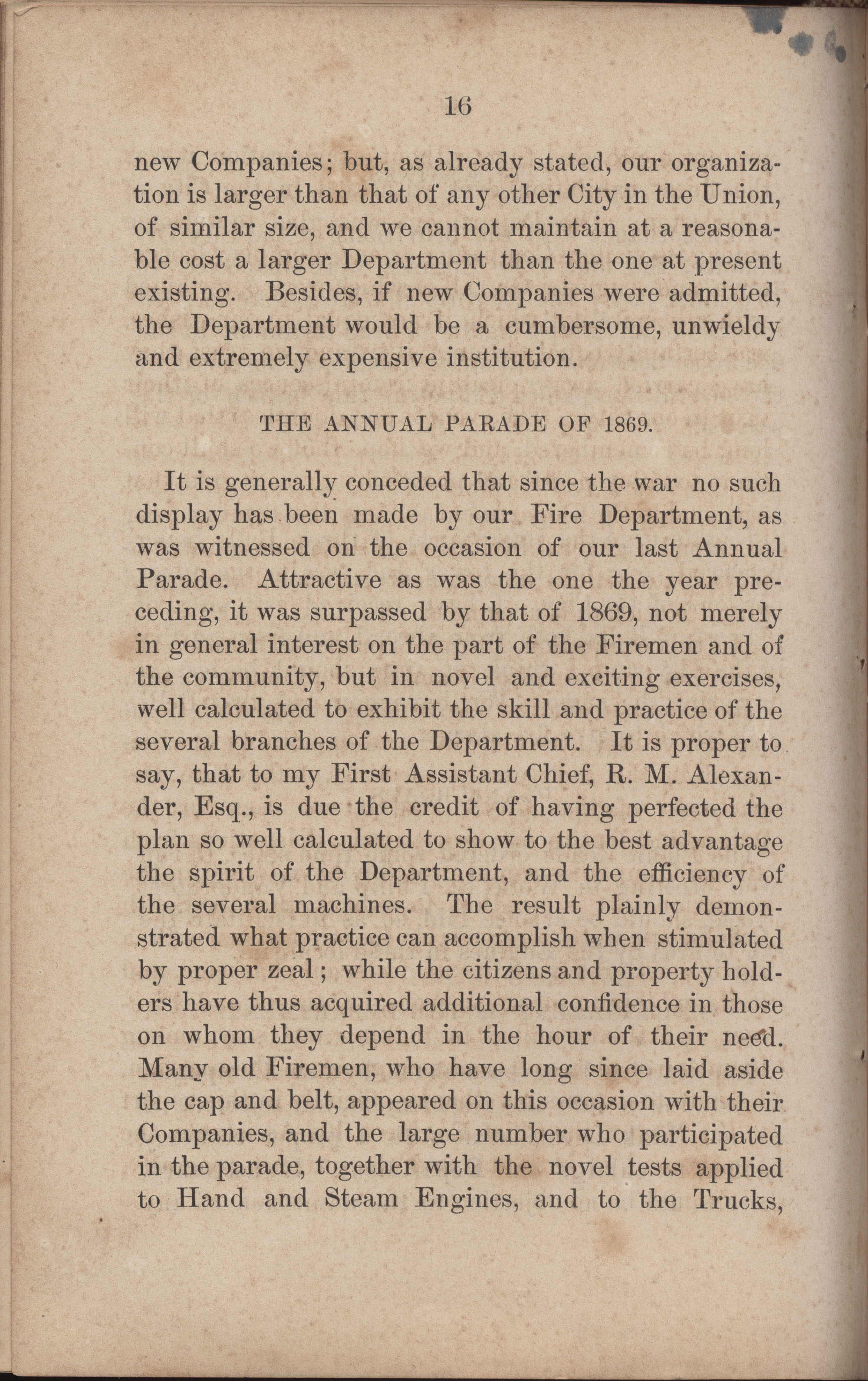 Annual Report of the Chief of the Fire Department of the City of Charleston, page 243