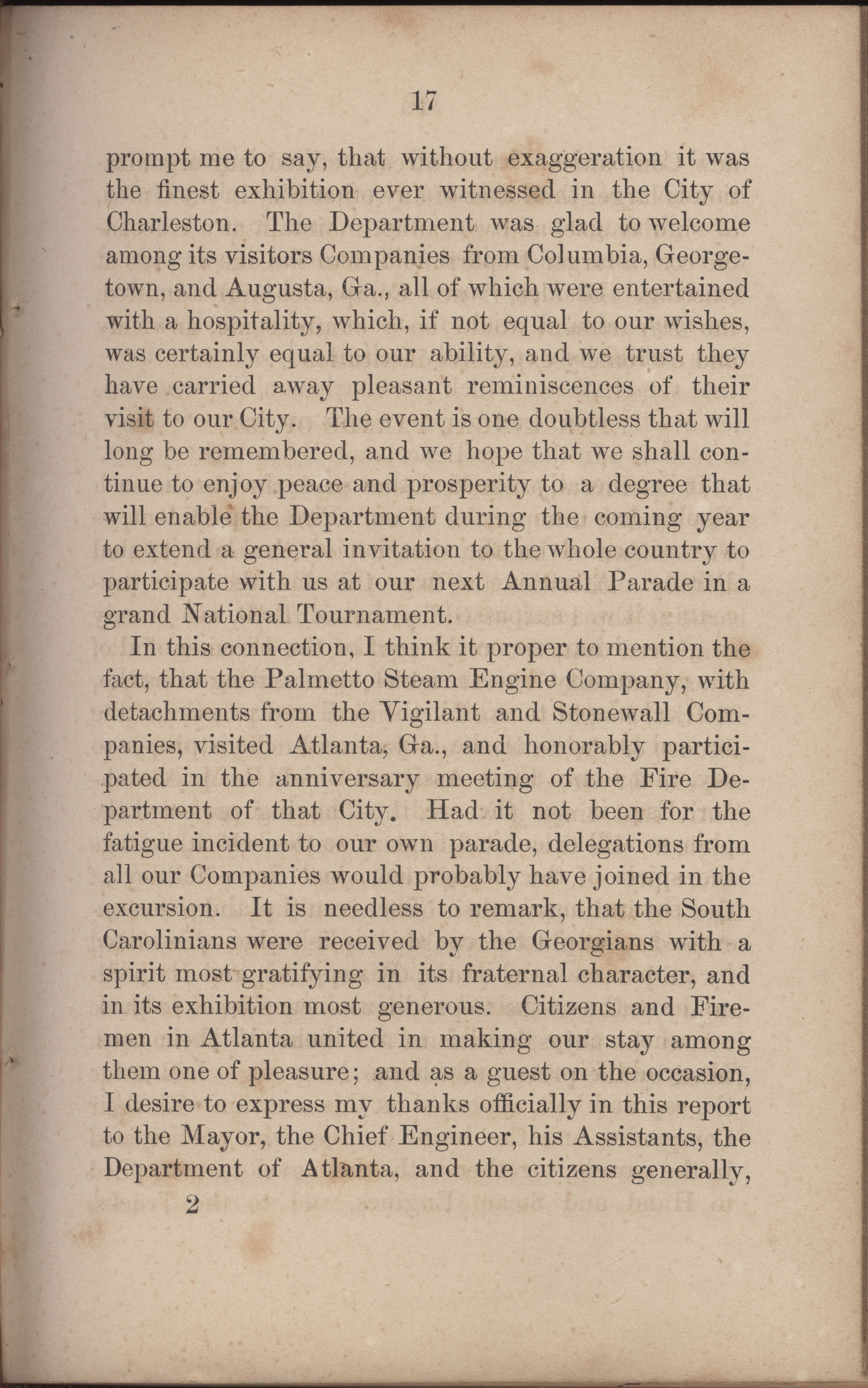 Annual Report of the Chief of the Fire Department of the City of Charleston, page 244