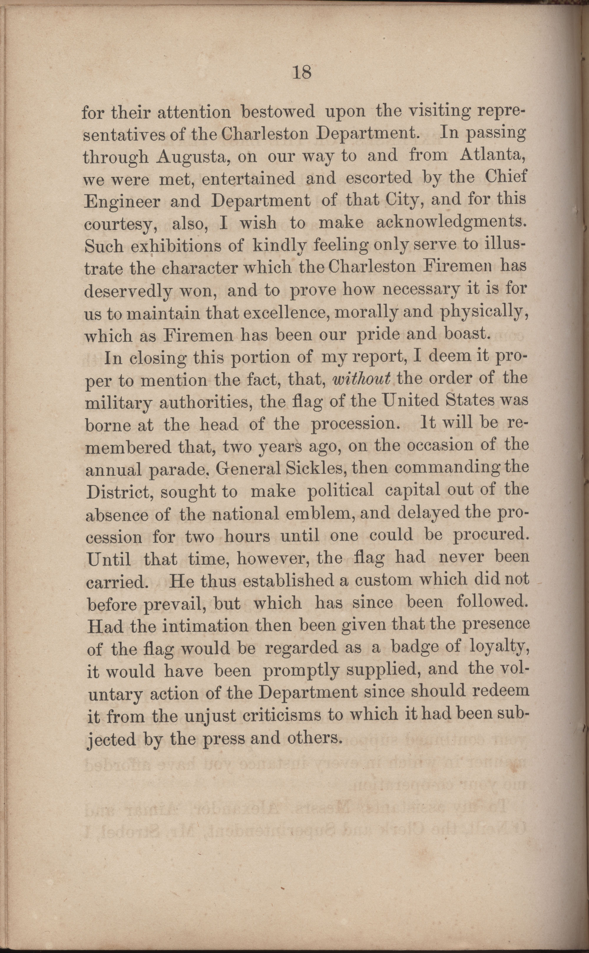 Annual Report of the Chief of the Fire Department of the City of Charleston, page 245