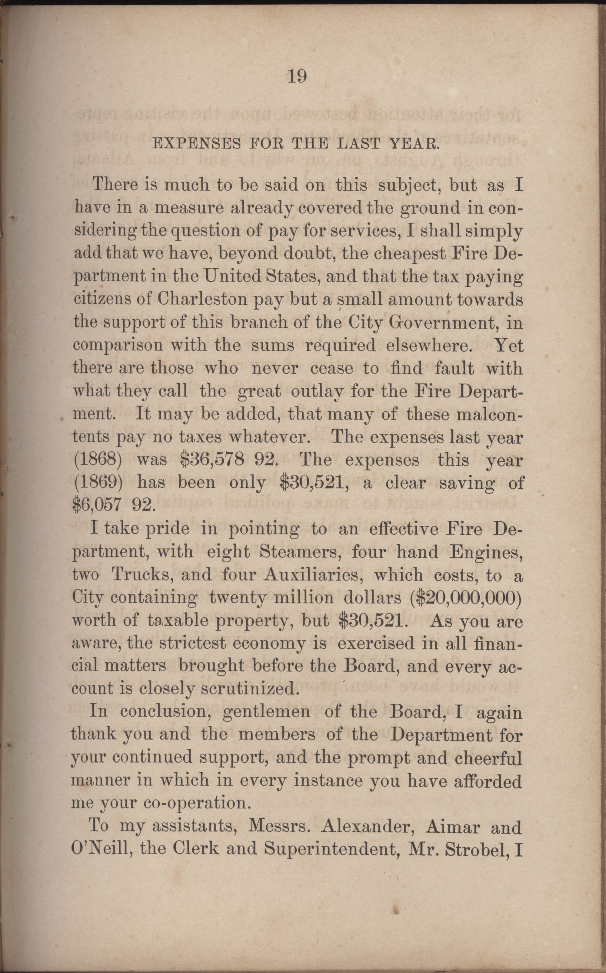 Annual Report of the Chief of the Fire Department of the City of Charleston, page 246
