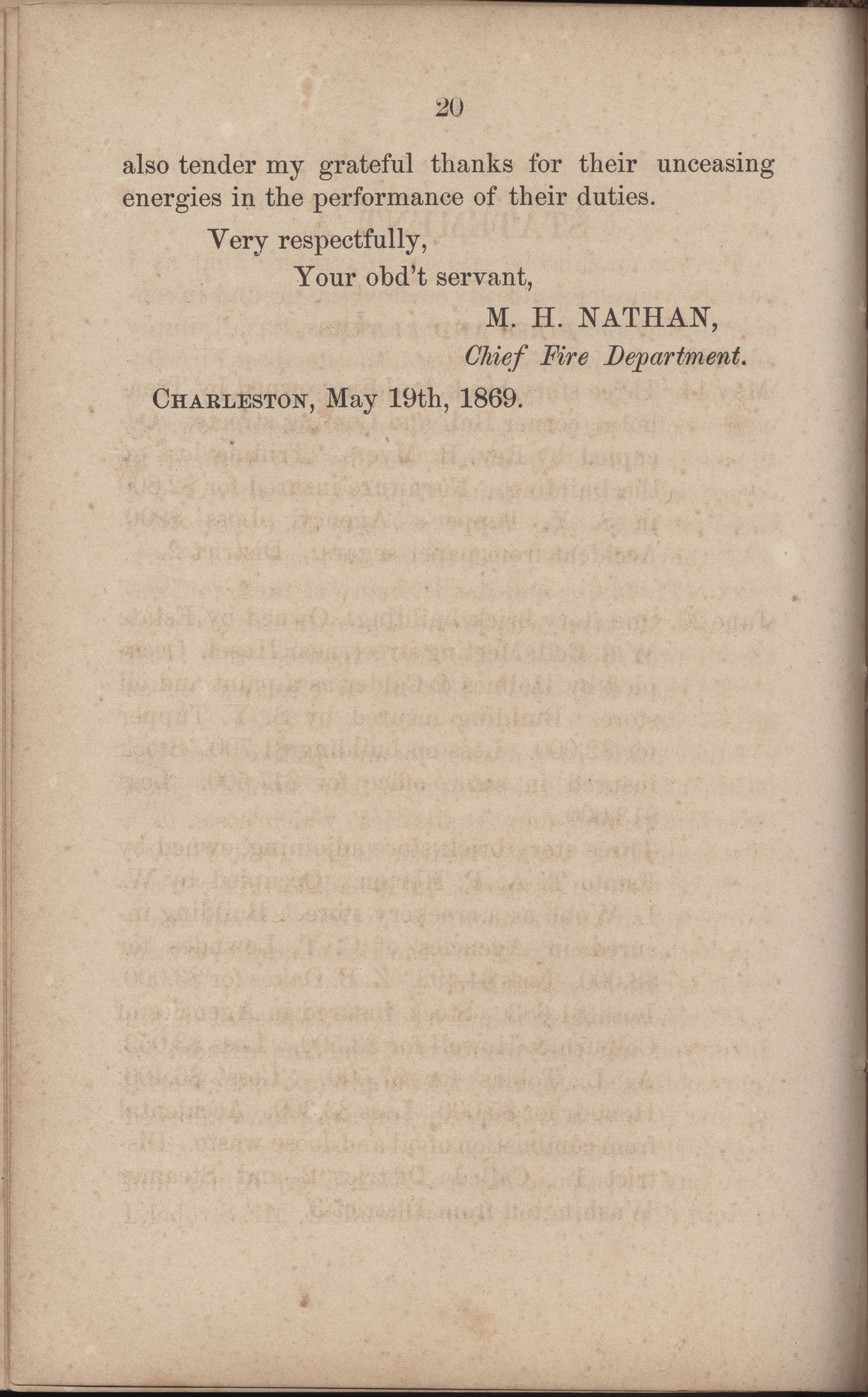 Annual Report of the Chief of the Fire Department of the City of Charleston, page 247