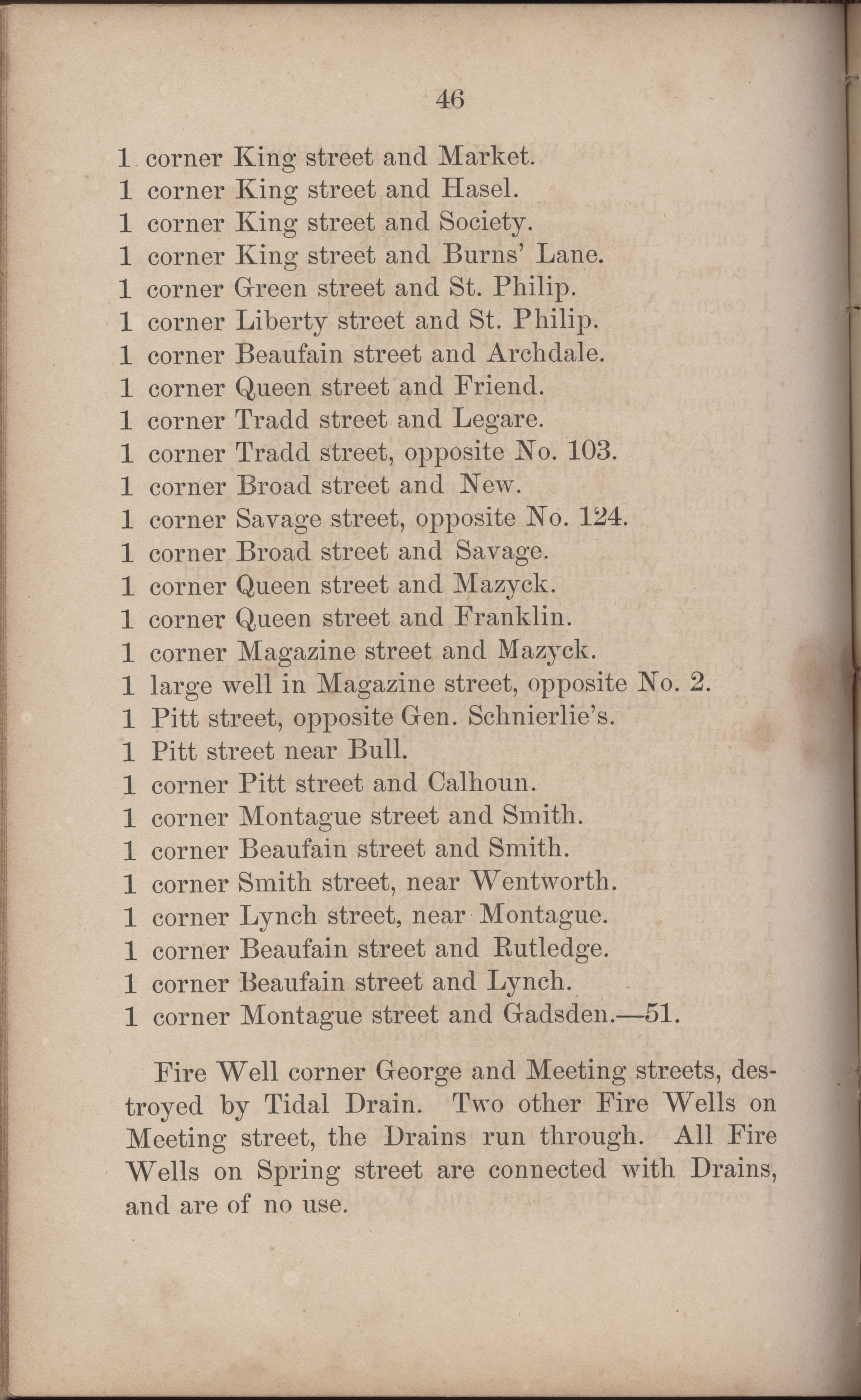Annual Report of the Chief of the Fire Department of the City of Charleston, page 273