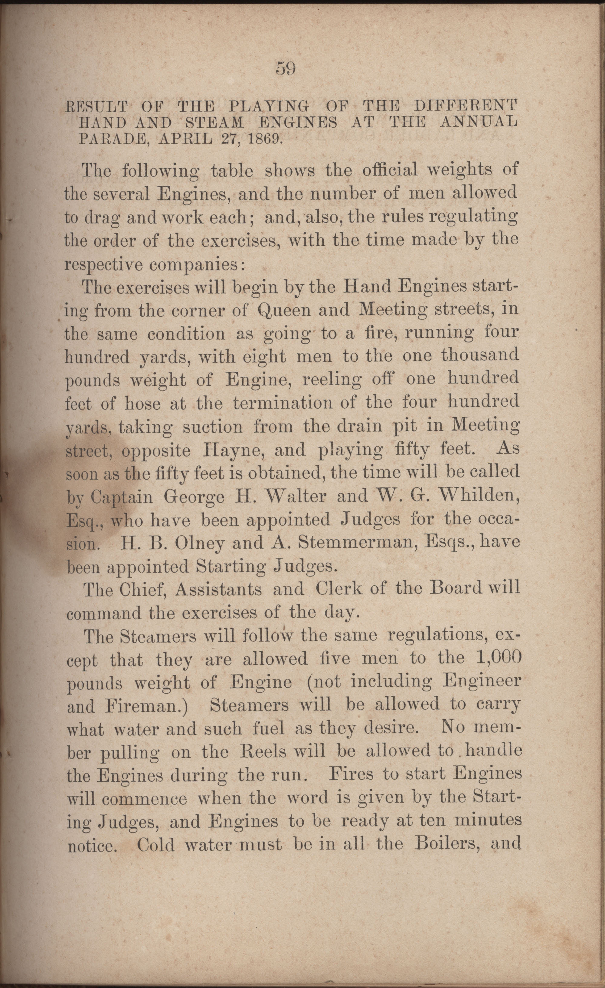 Annual Report of the Chief of the Fire Department of the City of Charleston, page 286