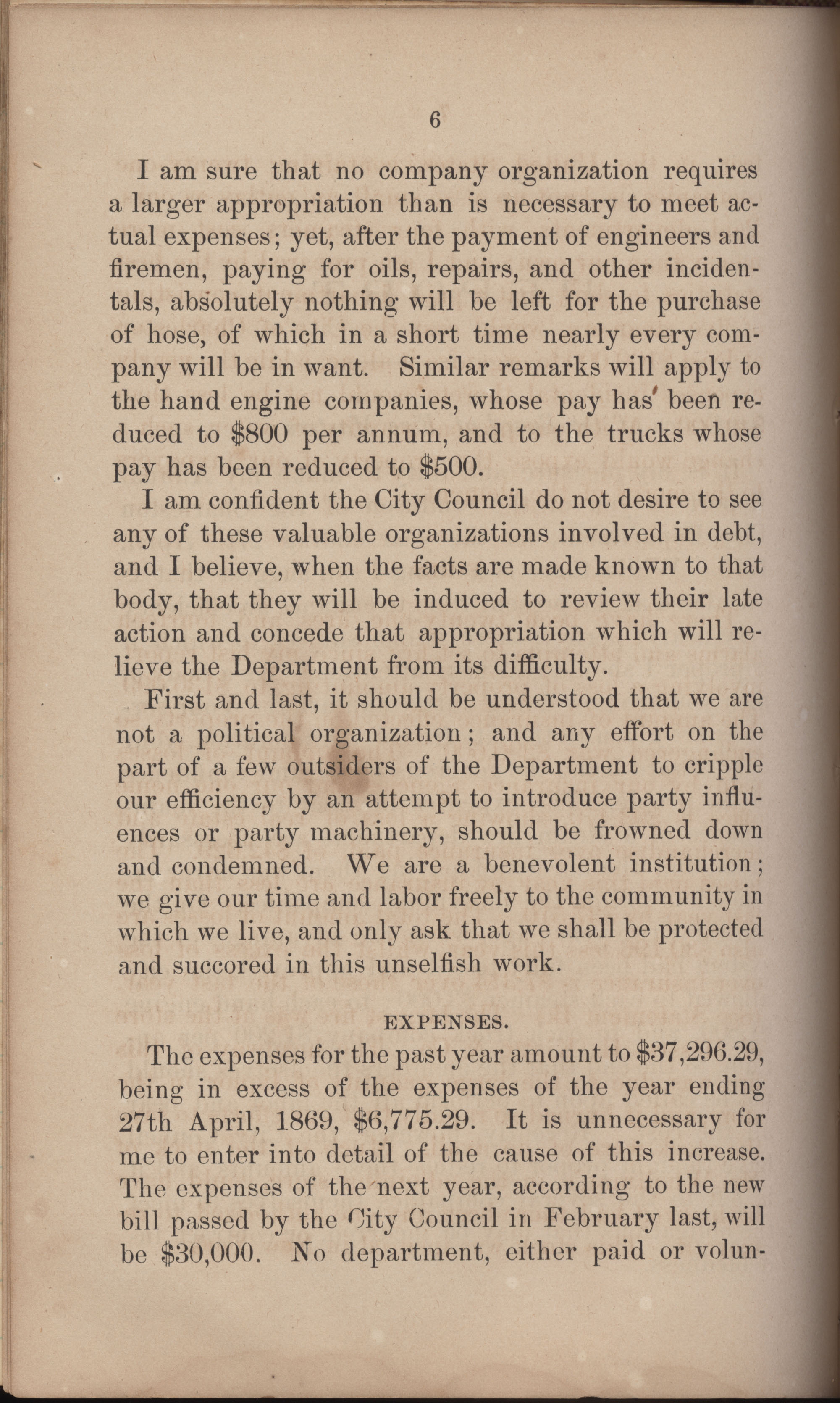 Annual Report of the Chief of the Fire Department of the City of Charleston, page 297
