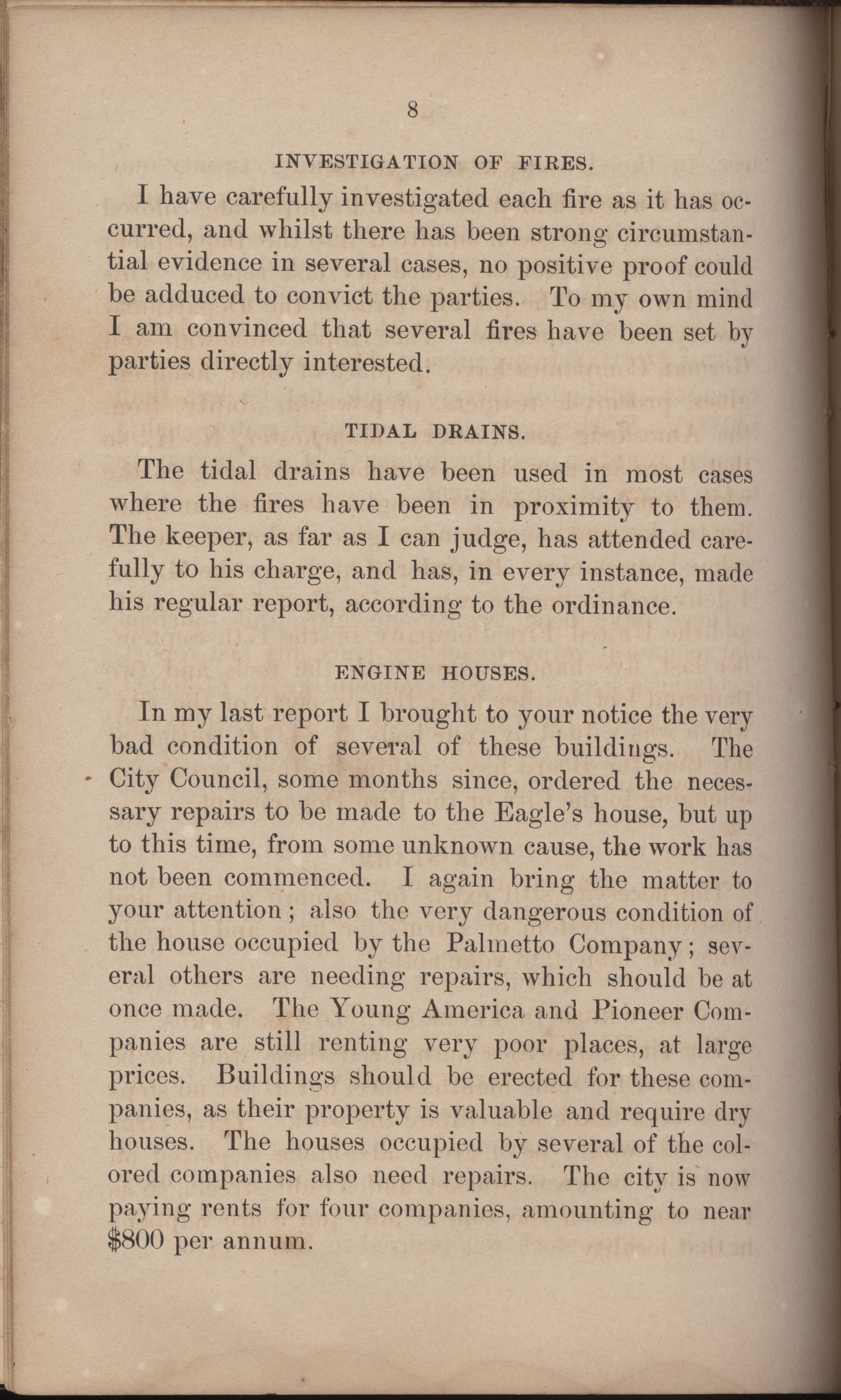 Annual Report of the Chief of the Fire Department of the City of Charleston, page 299