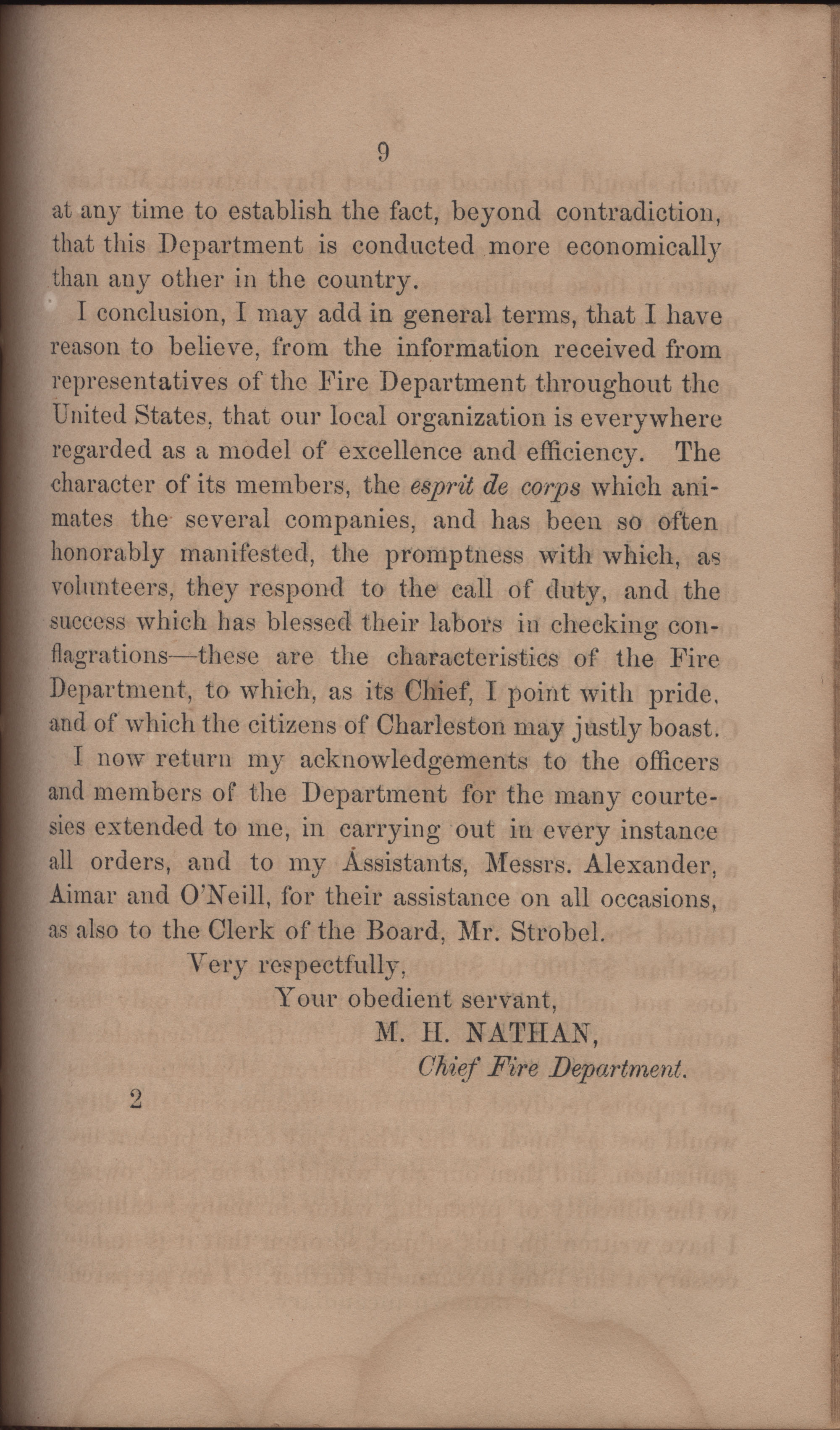 Annual Report of the Chief of the Fire Department of the City of Charleston, page 356