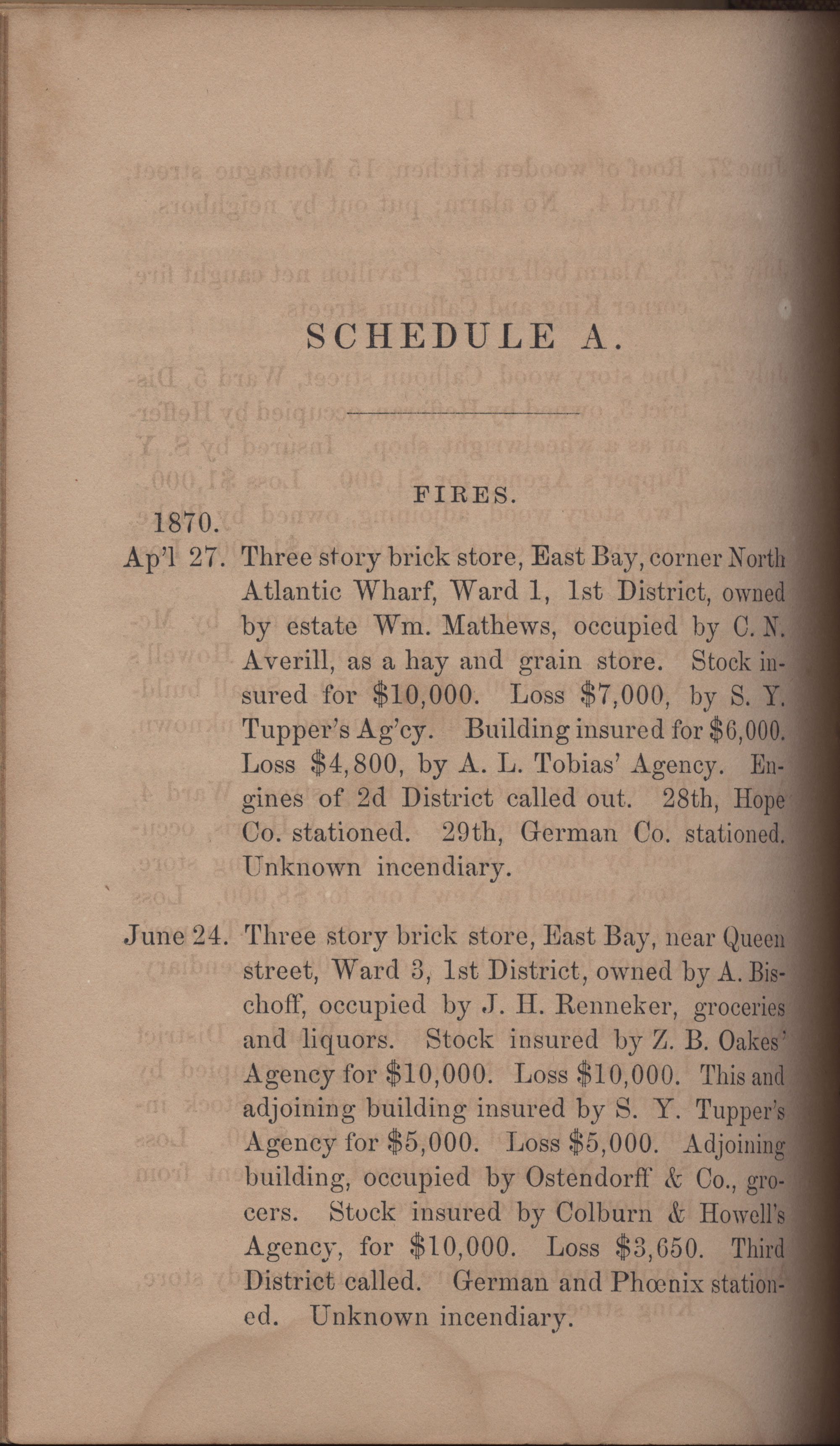 Annual Report of the Chief of the Fire Department of the City of Charleston, page 357