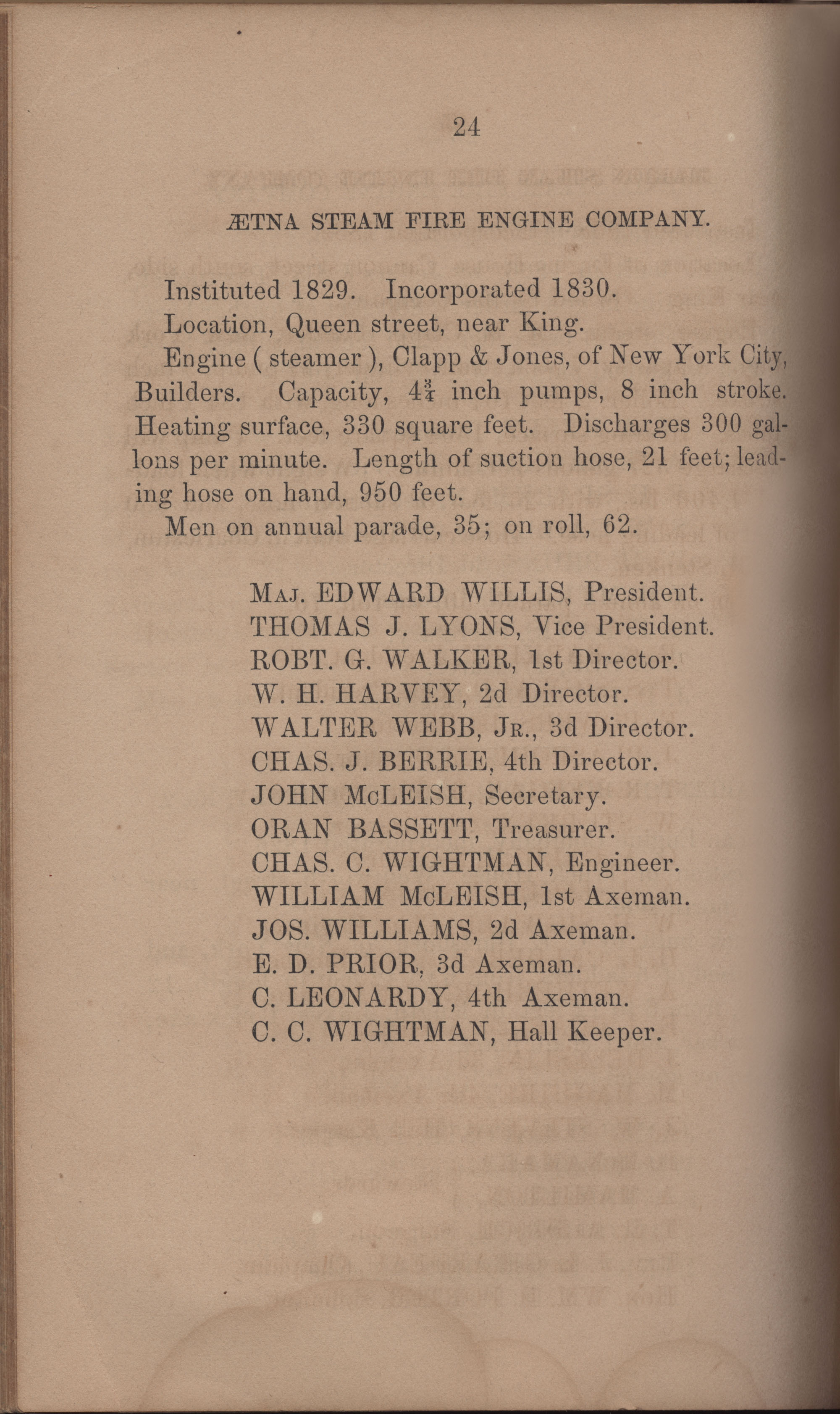 Annual Report of the Chief of the Fire Department of the City of Charleston, page 371