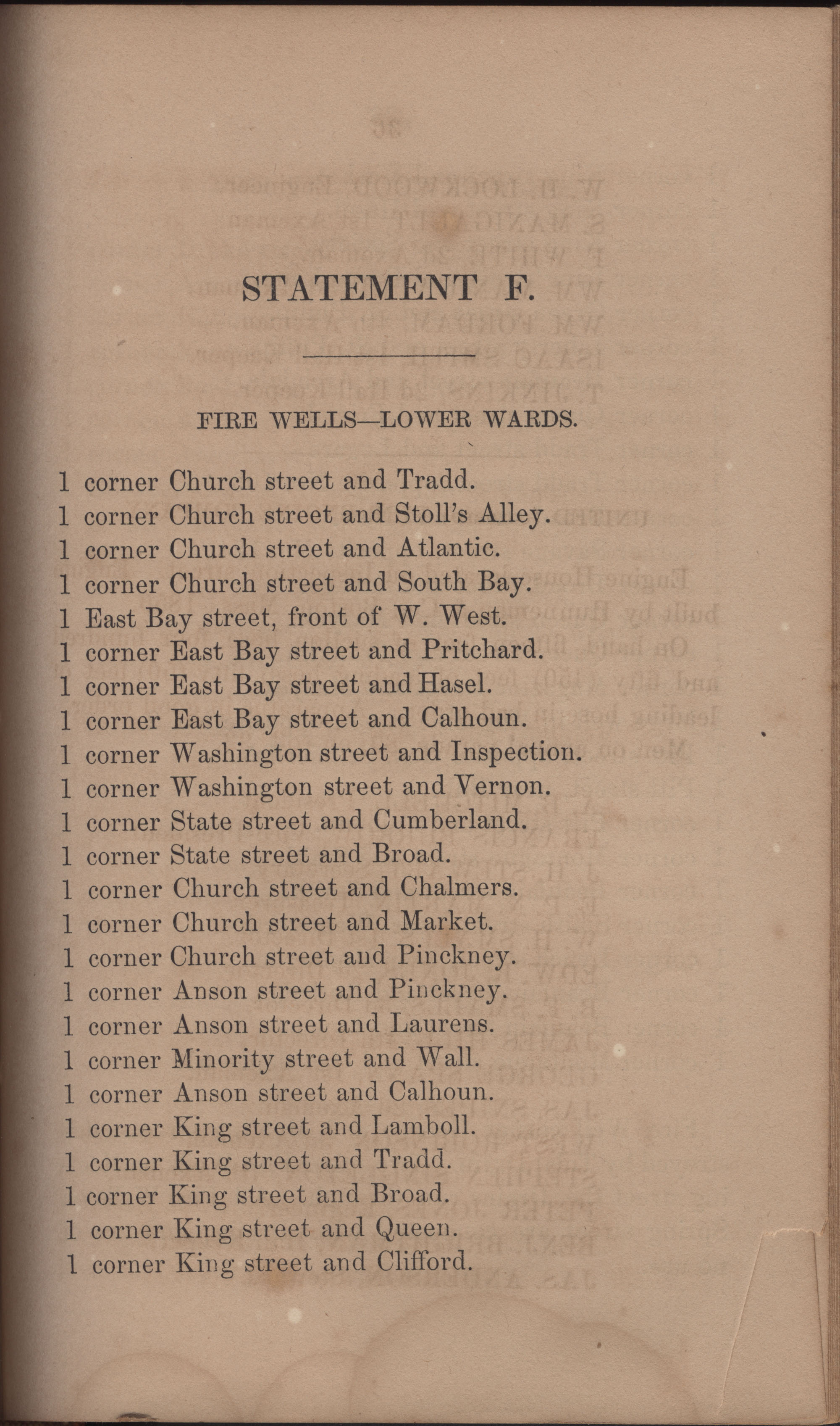 Annual Report of the Chief of the Fire Department of the City of Charleston, page 384
