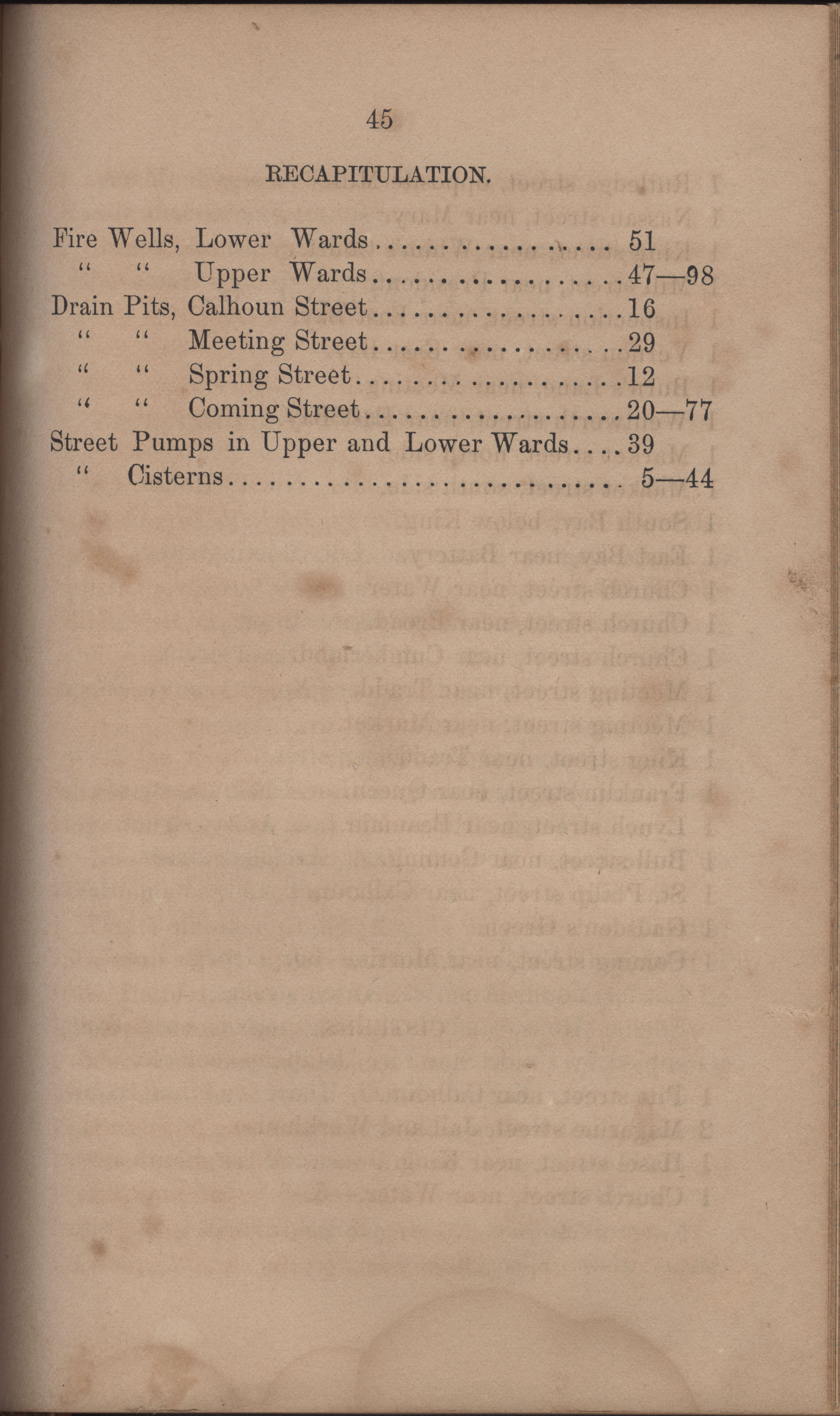 Annual Report of the Chief of the Fire Department of the City of Charleston, page 392