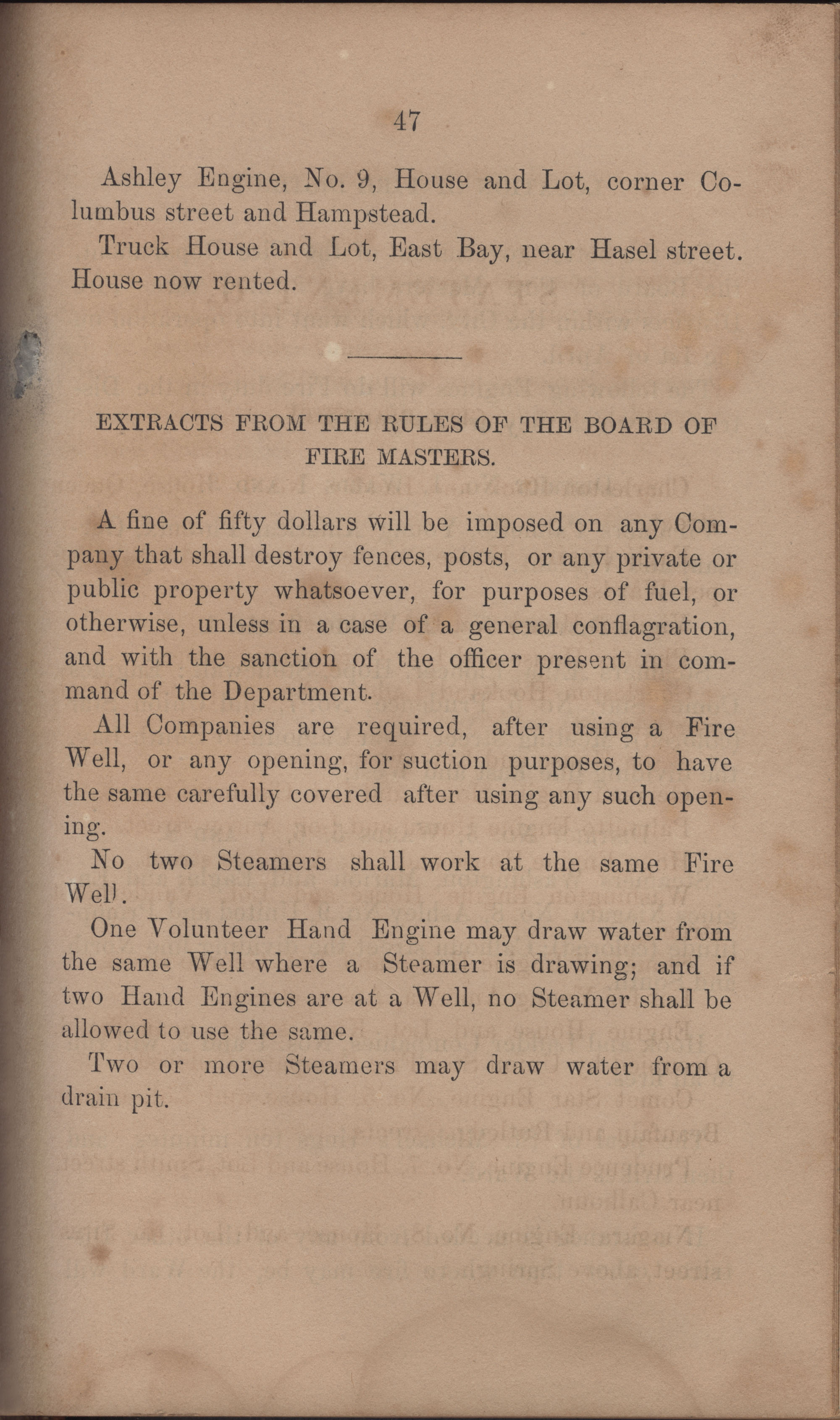 Annual Report of the Chief of the Fire Department of the City of Charleston, page 394