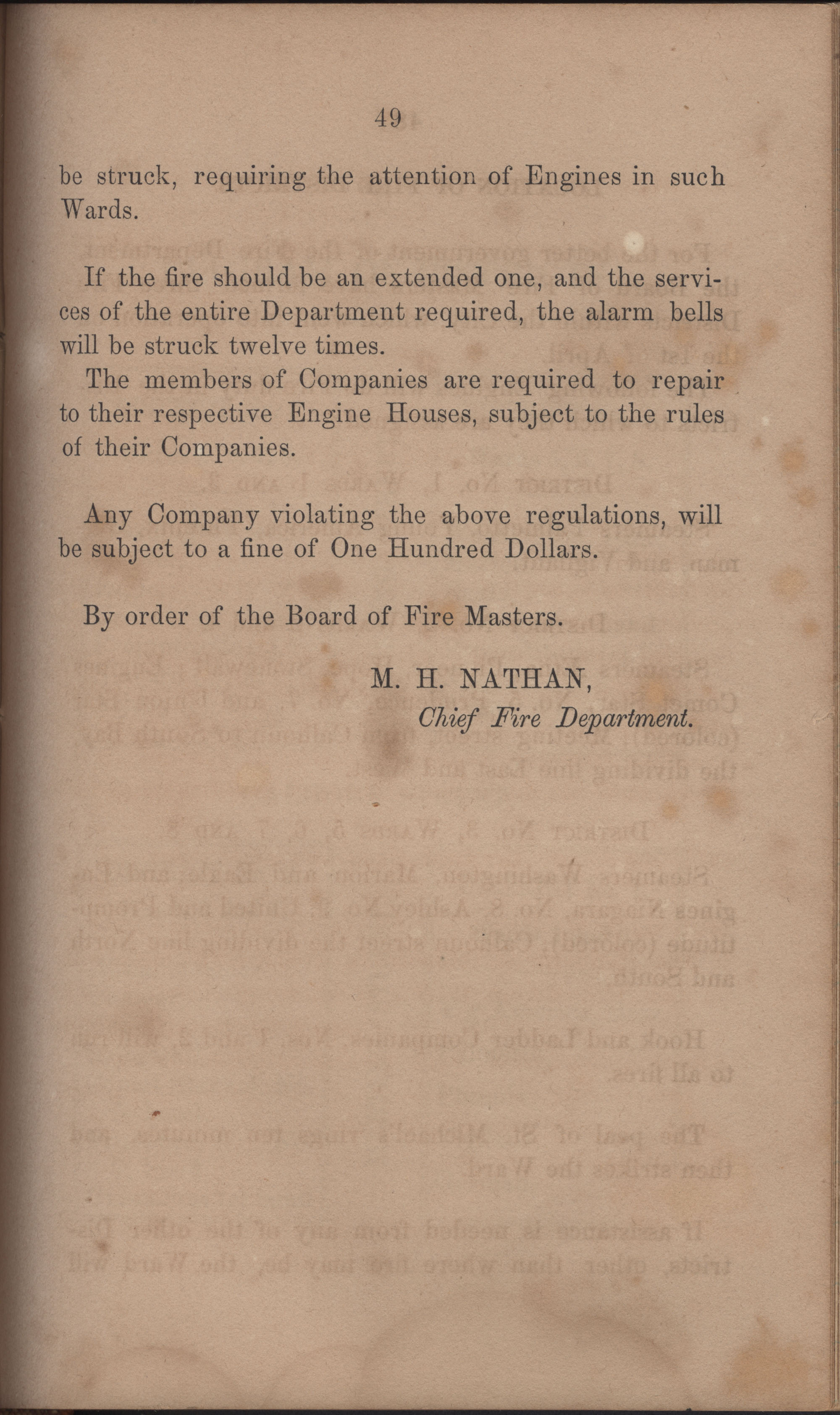 Annual Report of the Chief of the Fire Department of the City of Charleston, page 396
