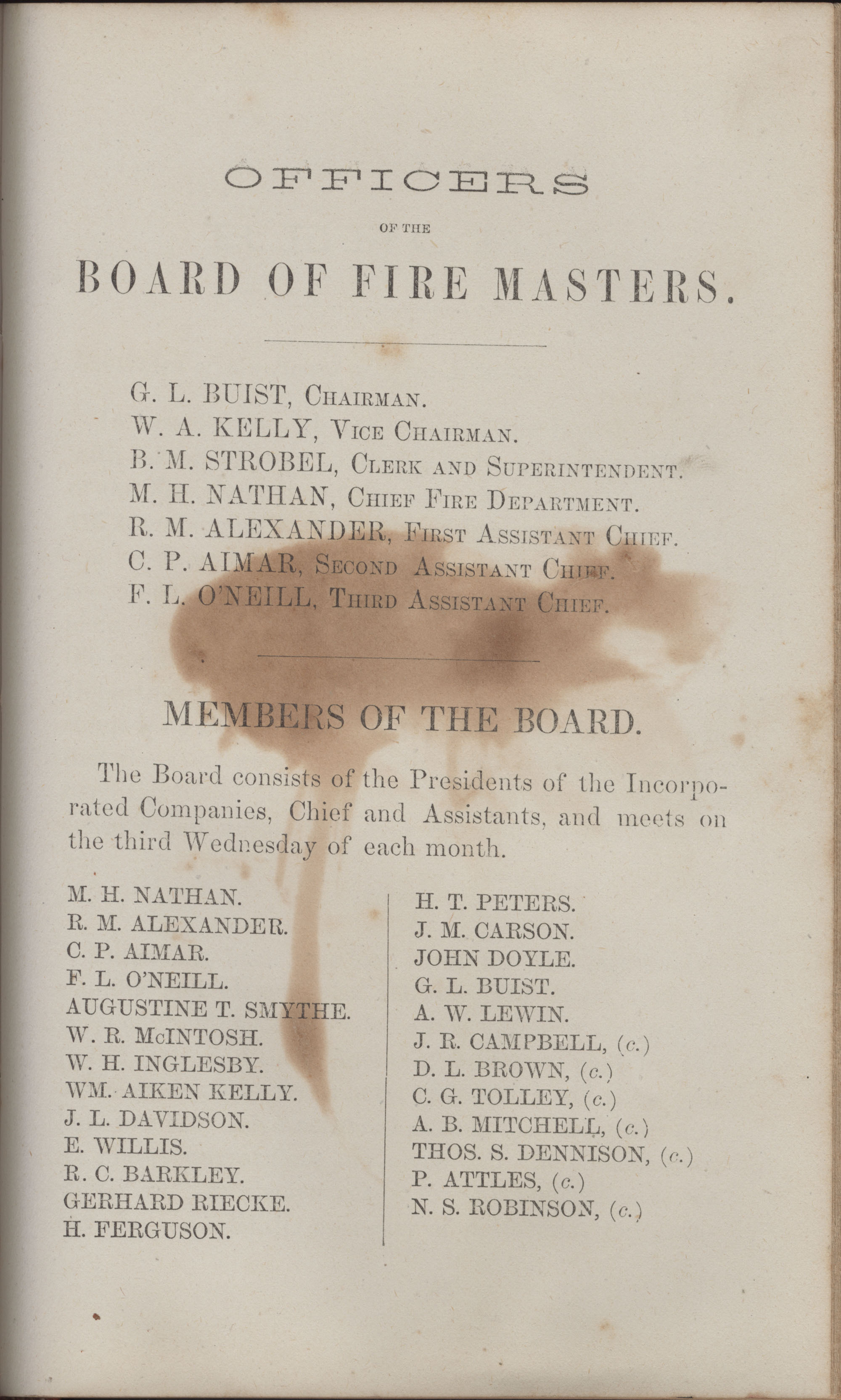 Annual Report of the Chief of the Fire Department of the City of Charleston, page 399