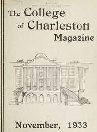 College of Charleston Magazine, 1933-1934