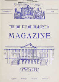 College of Charleston Magazine, 1934-1935