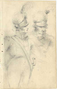 Two Napoleonic Soldiers