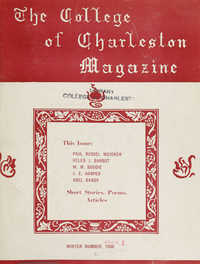 College of Charleston Magazine, 1936