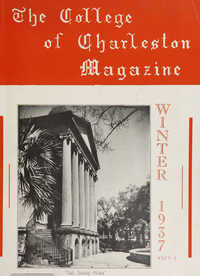 College of Charleston Magazine, 1937