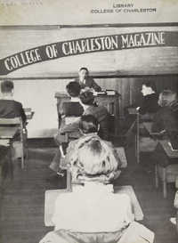 College of Charleston Magazine, 1938-1939