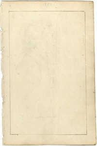 Portrait sketch of man in profile