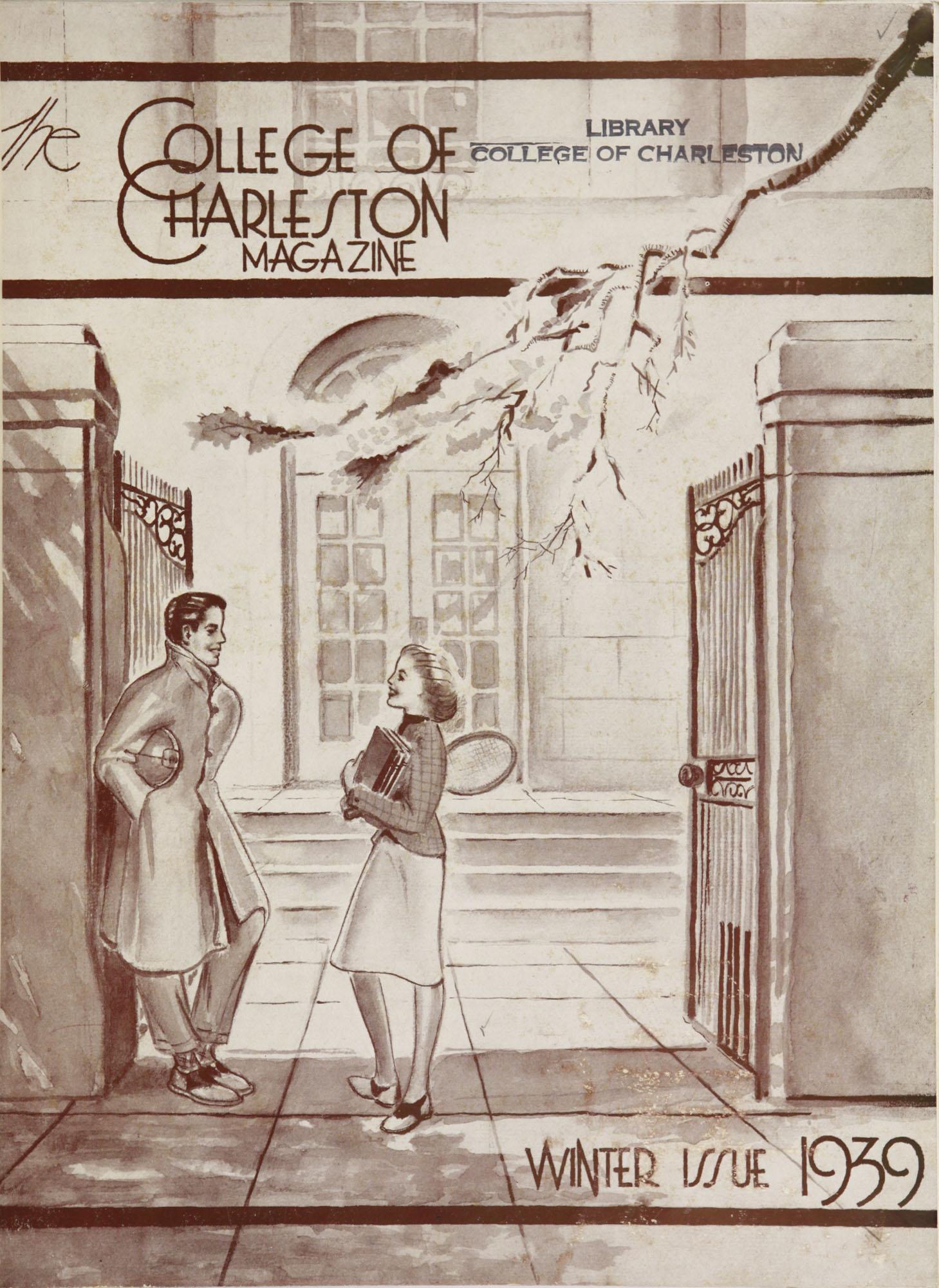 College of Charleston Magazine, 1939-1940