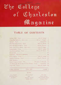 College of Charleston Magazine, 1940-1941