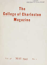 College of Charleston Magazine, 1945