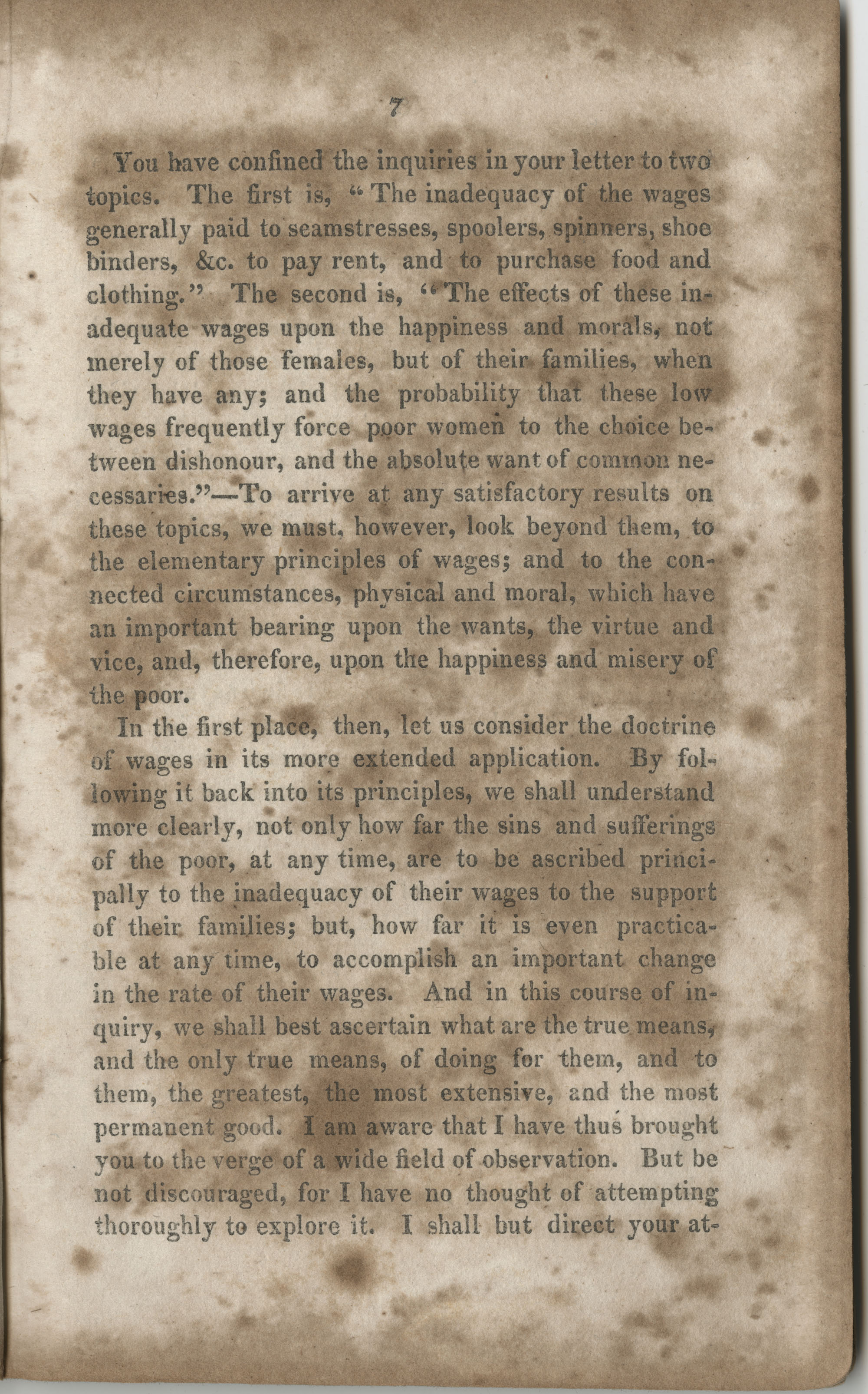 Essay on the wages paid to females for their labour, page 7