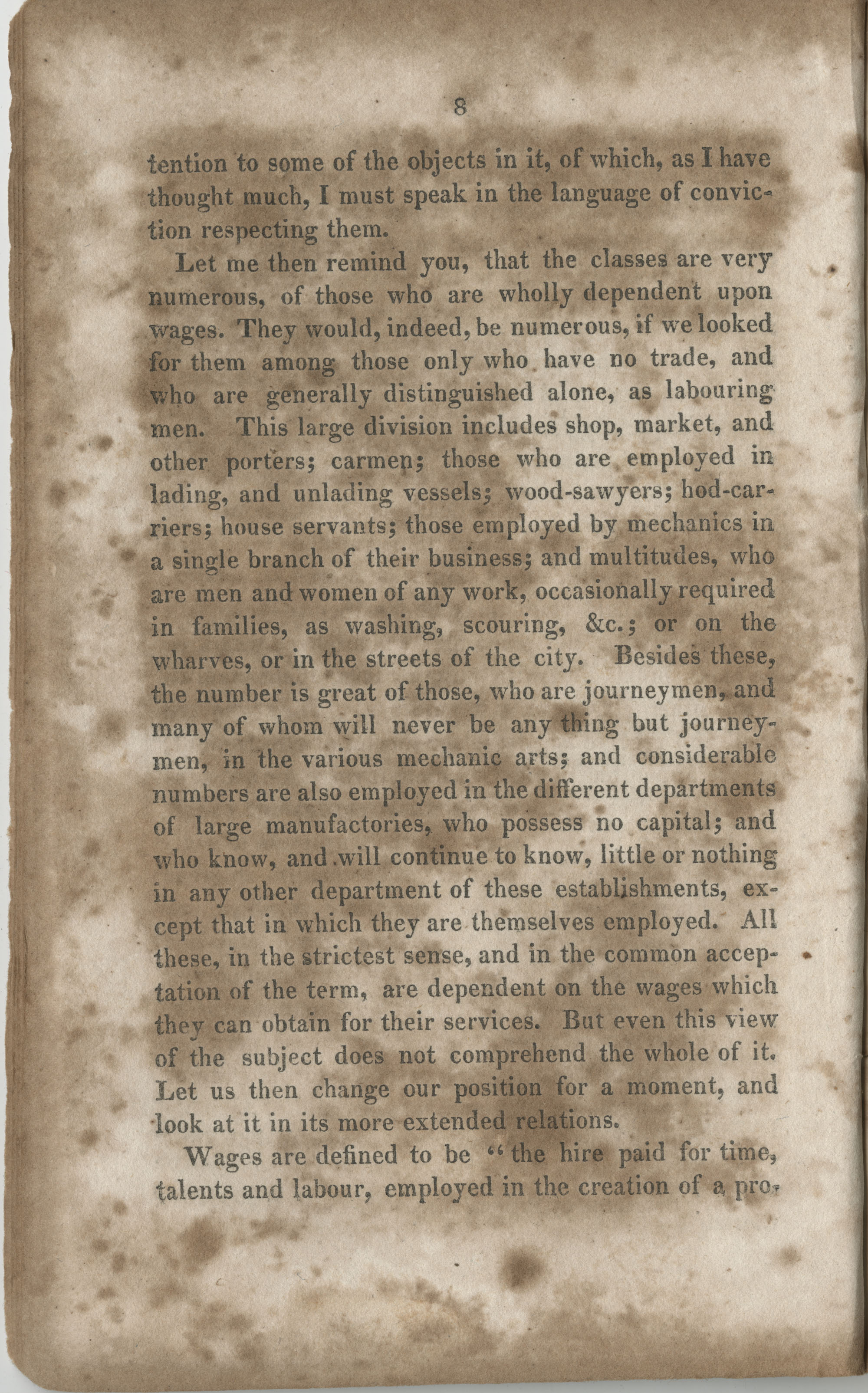 Essay on the wages paid to females for their labour, page 8