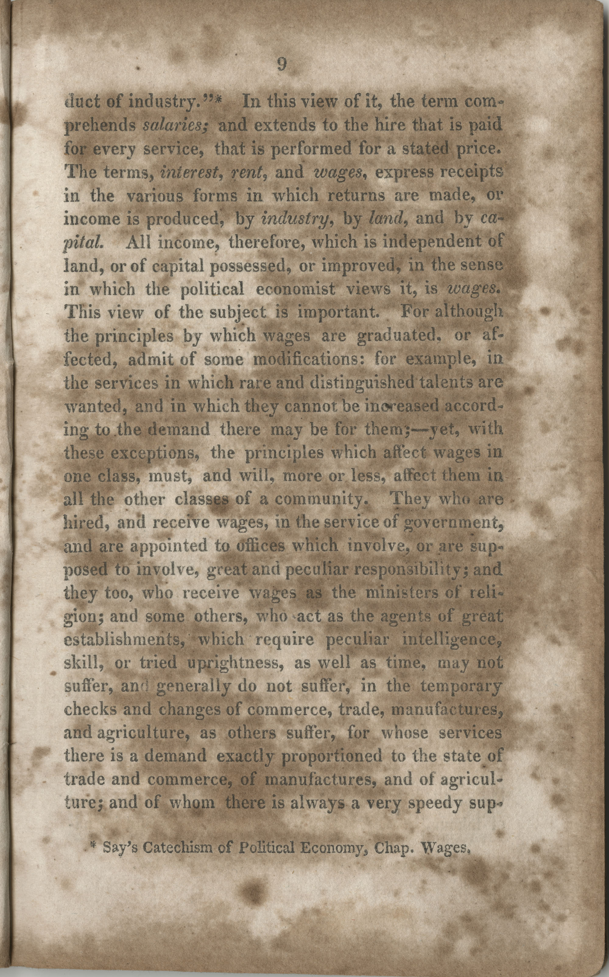 Essay on the wages paid to females for their labour, page 9