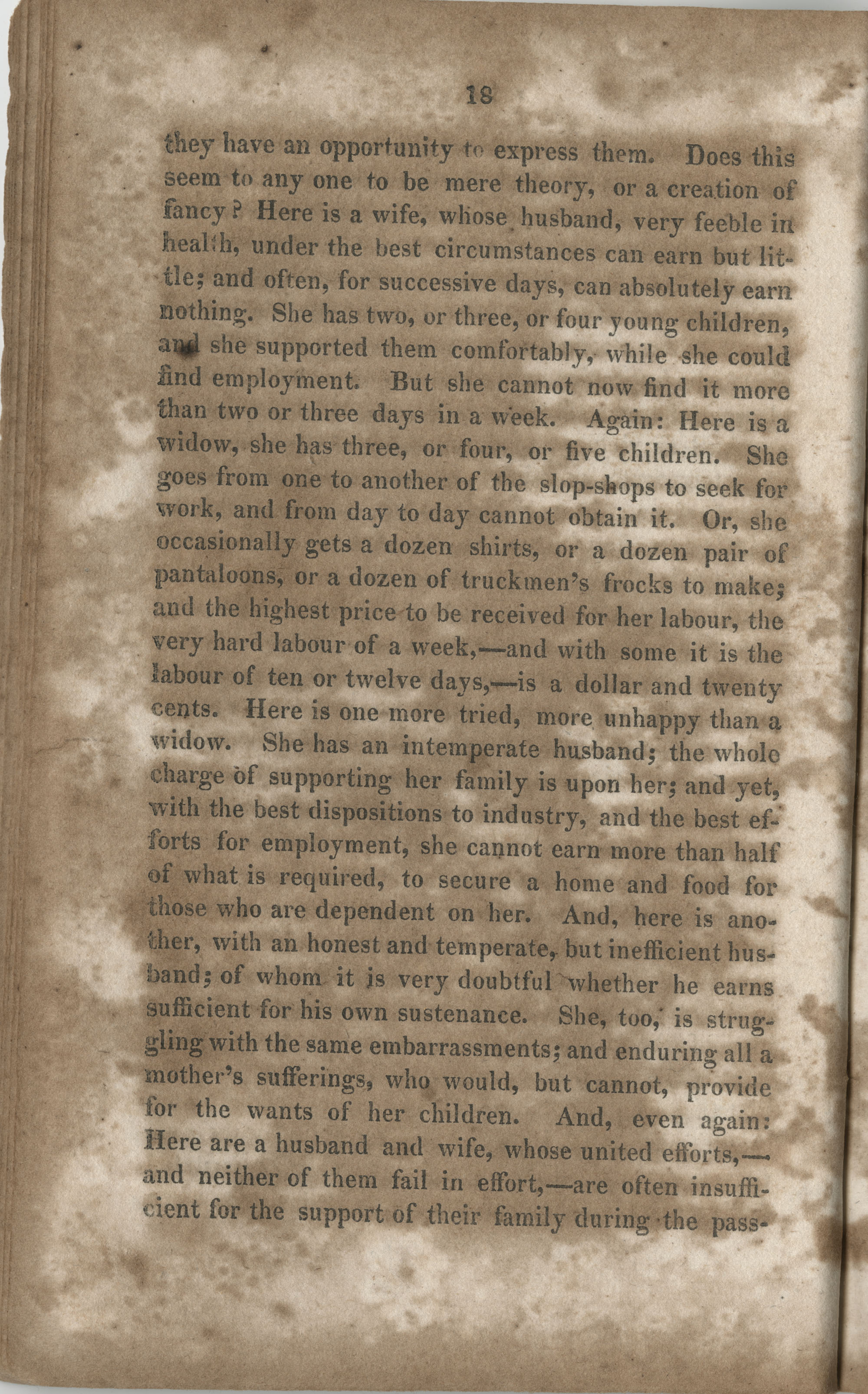 Essay on the wages paid to females for their labour, page 18